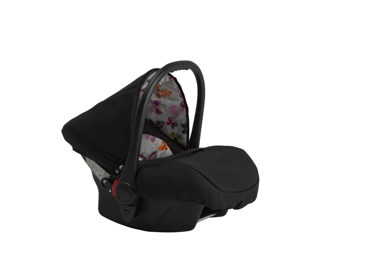 wózek Grander Play Tutek fotelik samochodowy z wkładką z motylki