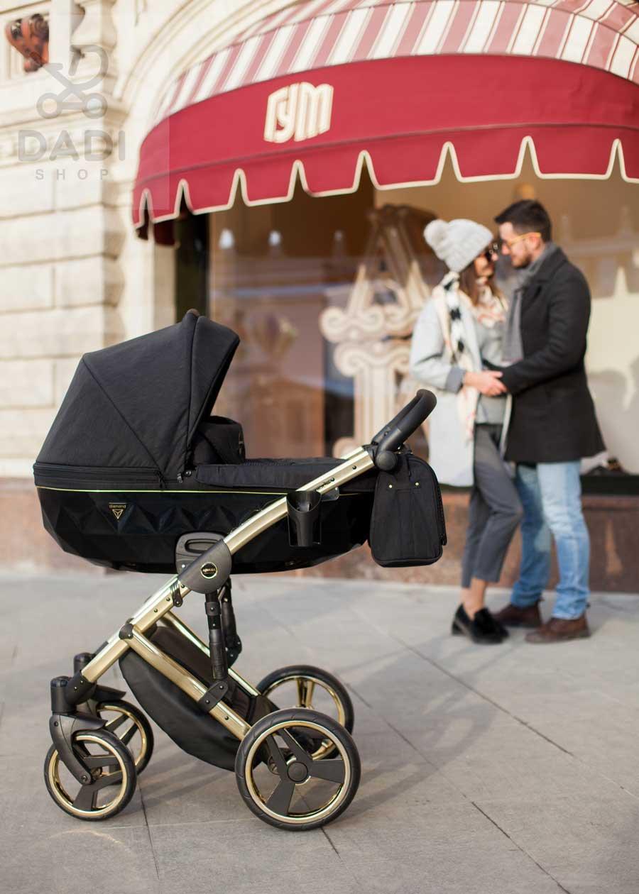 wózek dziecięcy piękny i wygodny junama diamond s line nowoczesny wielofunkcyjny Dadi Shop