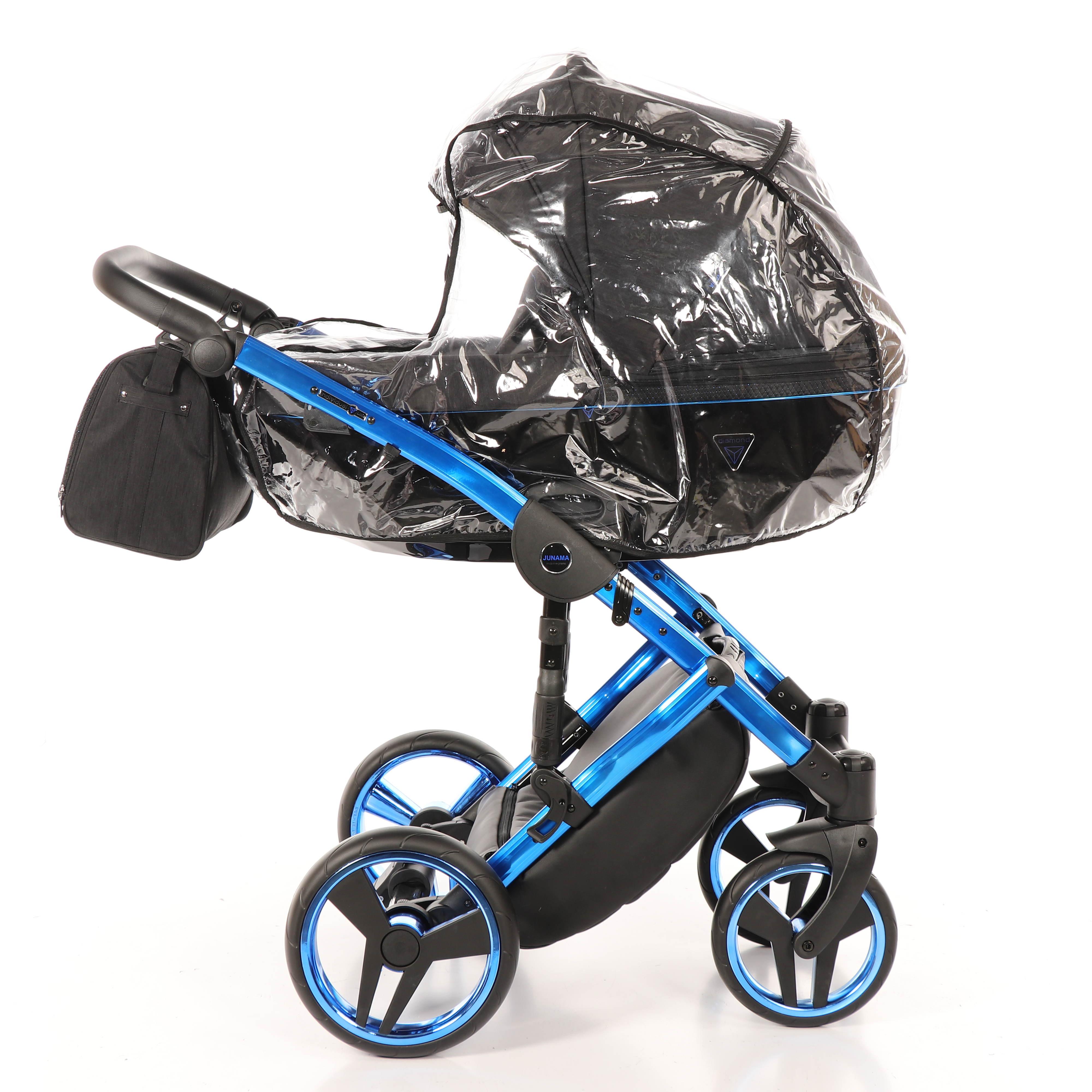 wózek dziecięcy Junama Individual folia przeciwdeszczowa