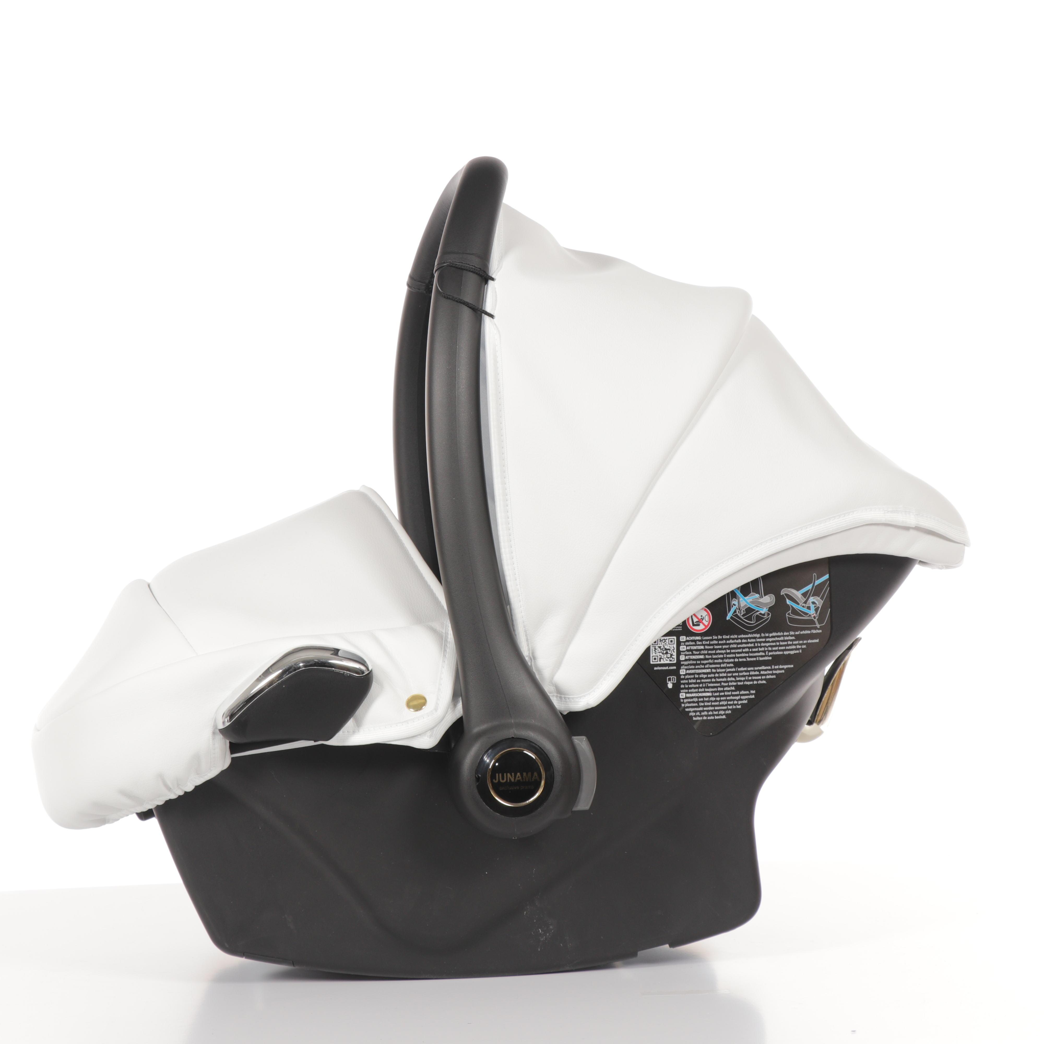 wózek dziecięcy Junama Individual z fotelikiem samochodowym