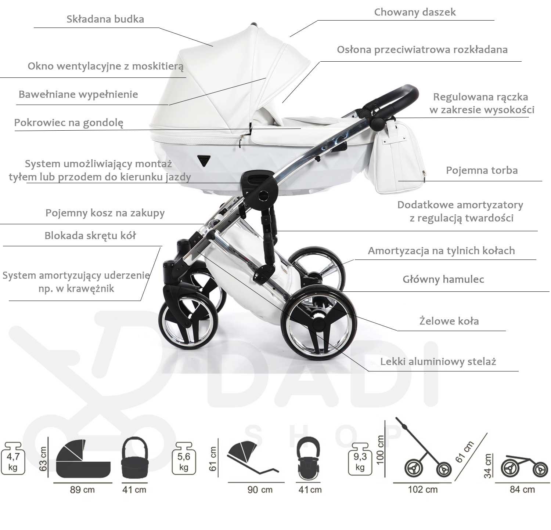 wózek Individual Junama opis Dadi Shop