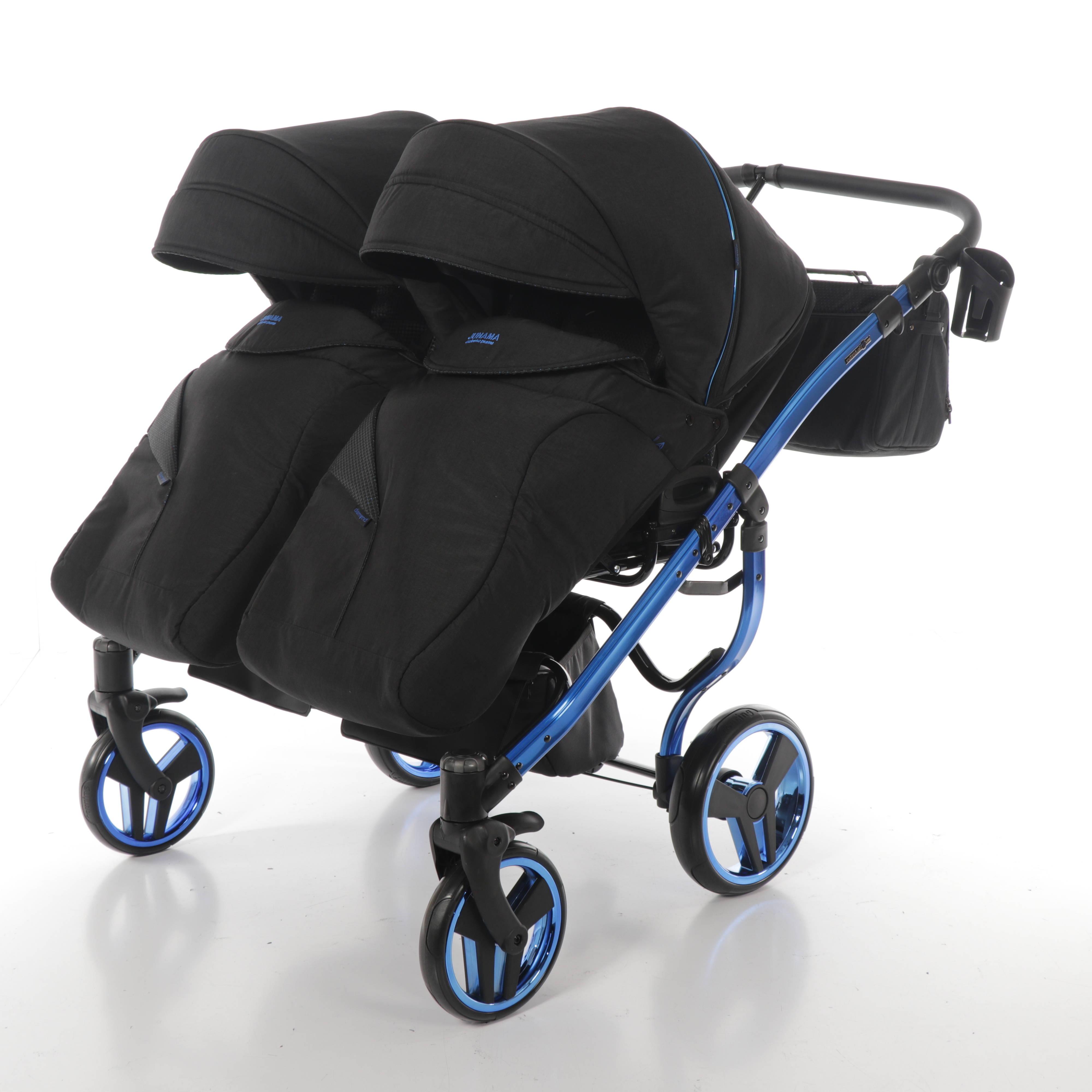 wózek wielofunkcyjny bliźniaczy Junama Individual Duo Dadi Shop spacerówka