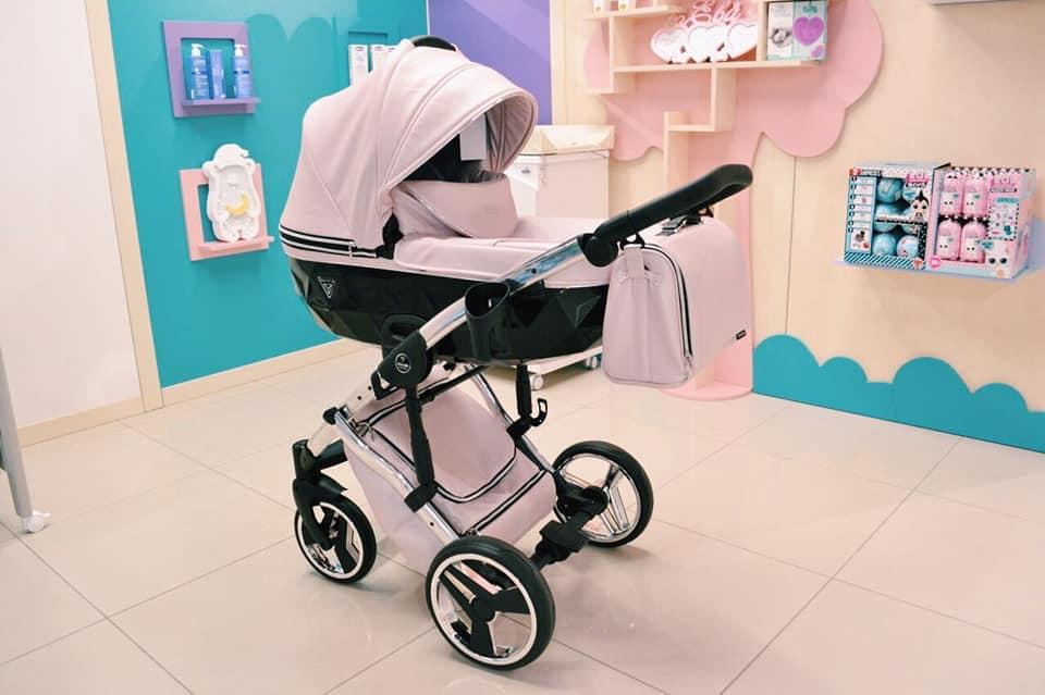 wózek dziecięcy Junama Fluo Line II dadi shop