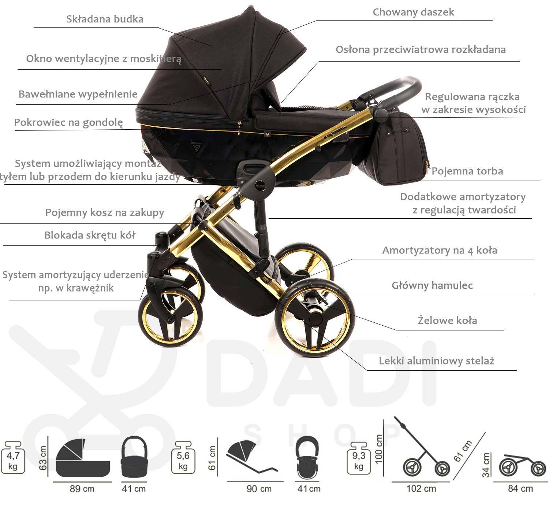wózek wielofunkcyjny Junama Diamond S Line opis Dadi Shop
