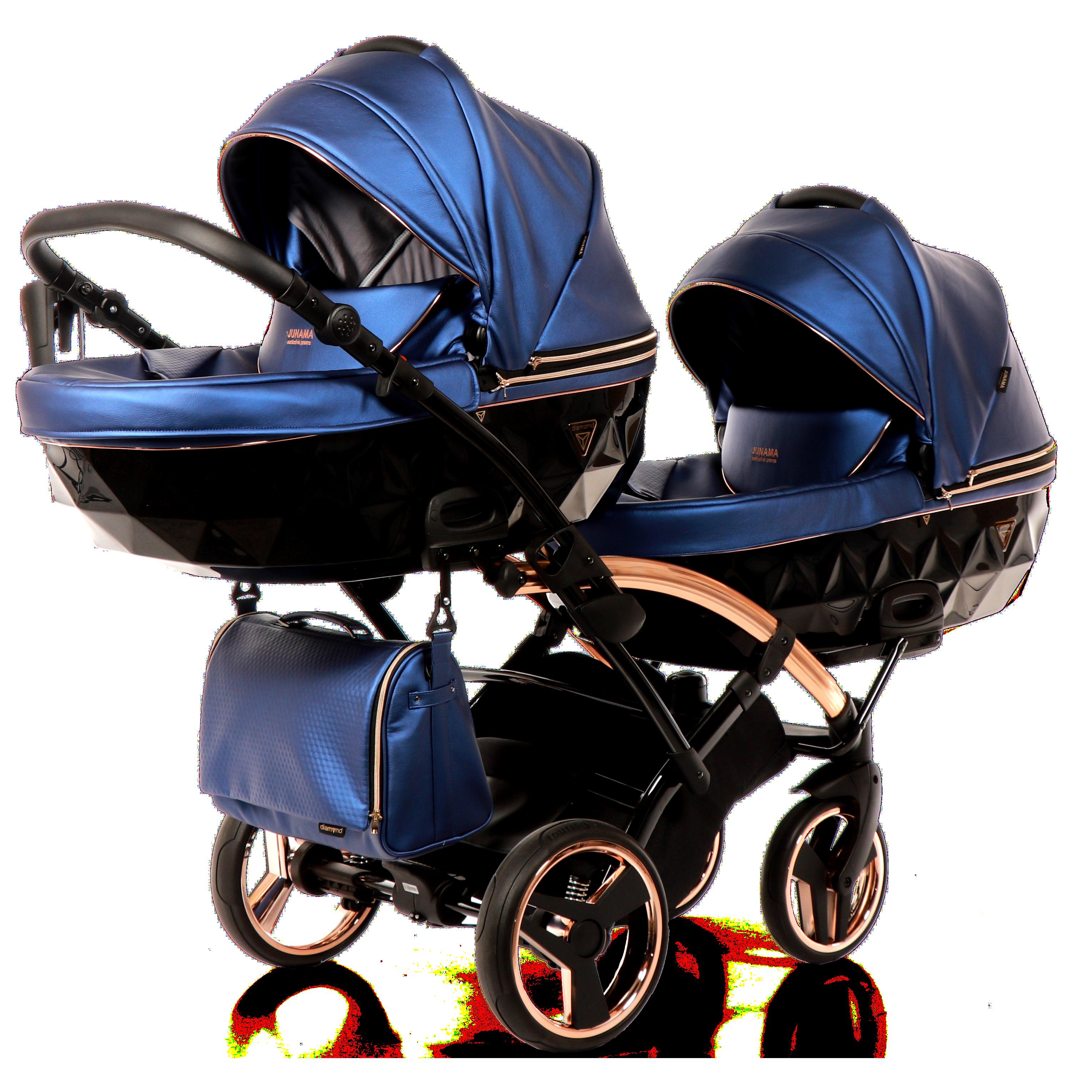 wózek bliźniaczy Junama Fluo Line Duo Slim