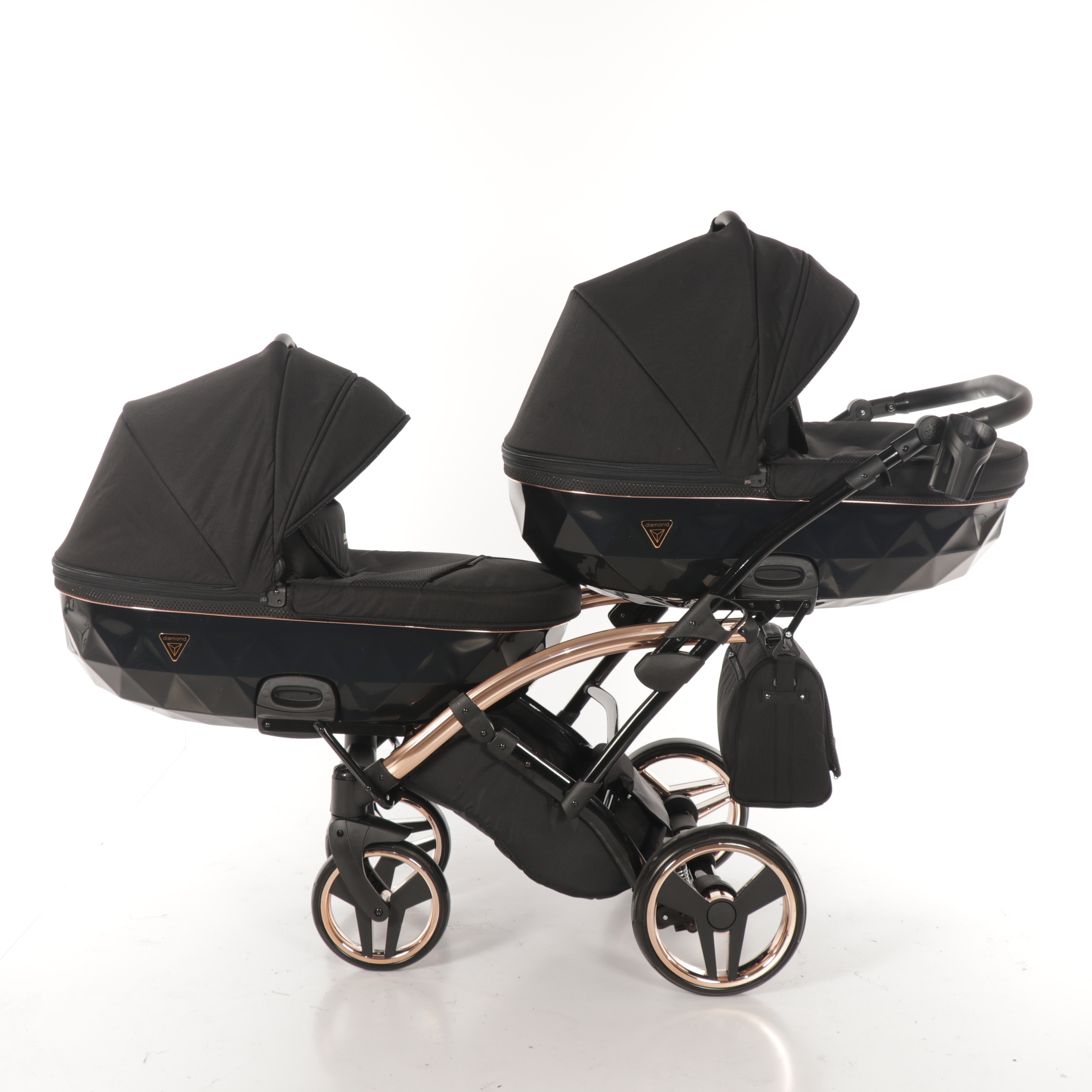 wózek dziecięcy blixniaczy Junama Individual Duo Slim