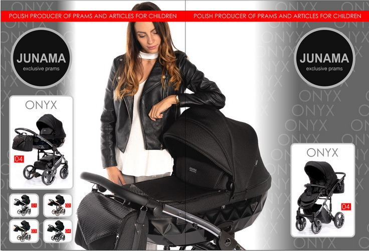 Junama Onyx wózek dziecięcy wielofunkcyjny Dadi Shop