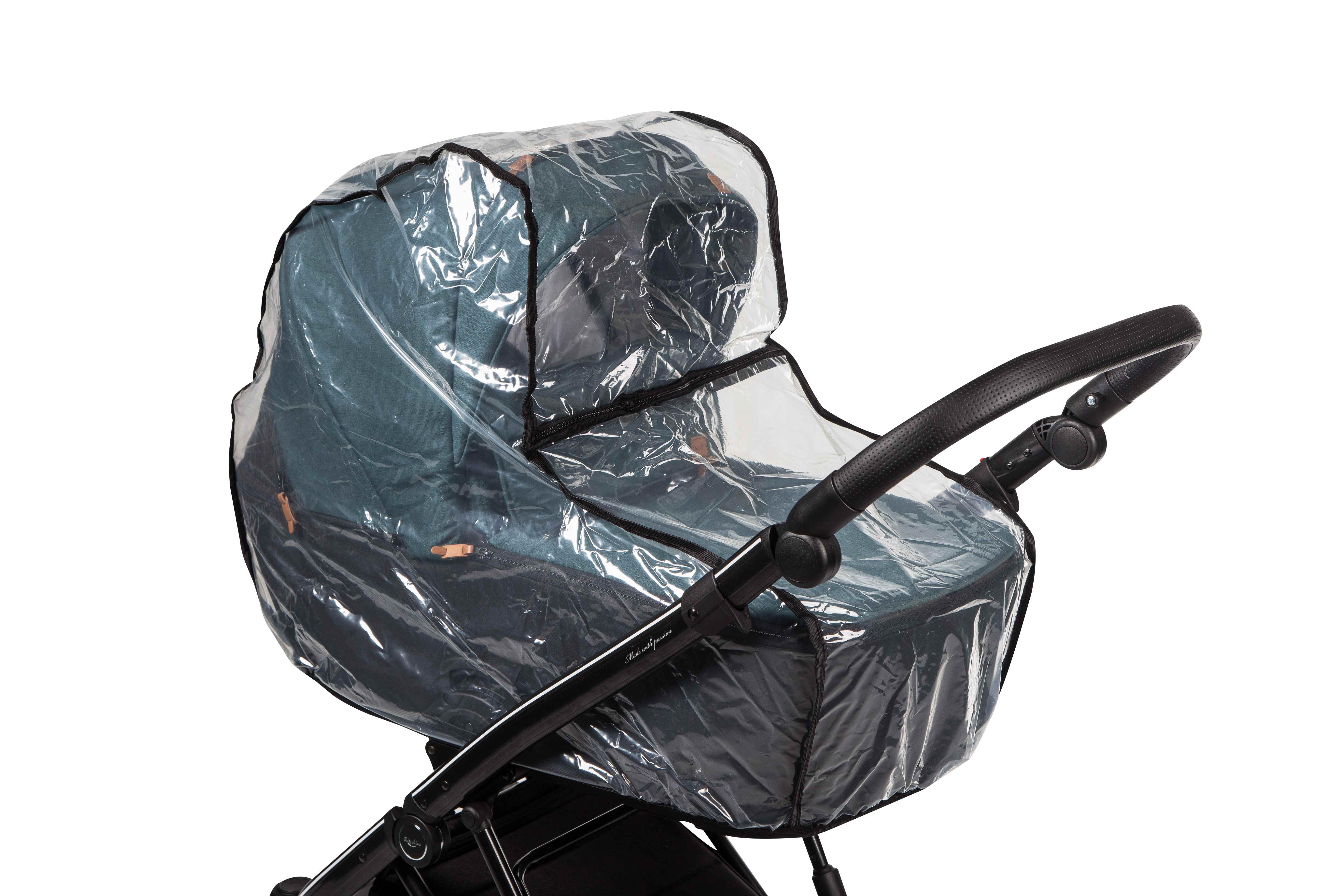 La Rosa Baby Merc wózek wielofunkcyjny folia przeciwdeszczowa