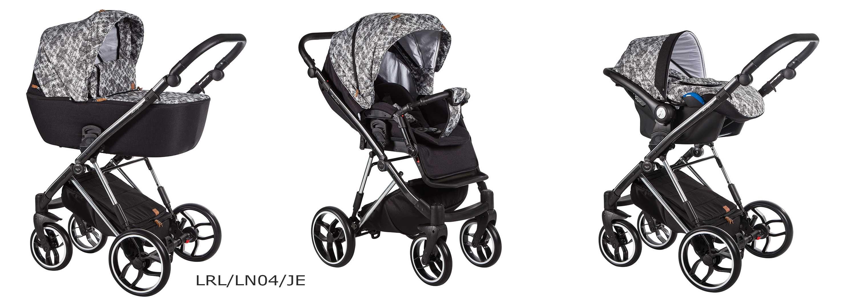 la rosa limited baby merc wózek wielofunkcyjny czarny