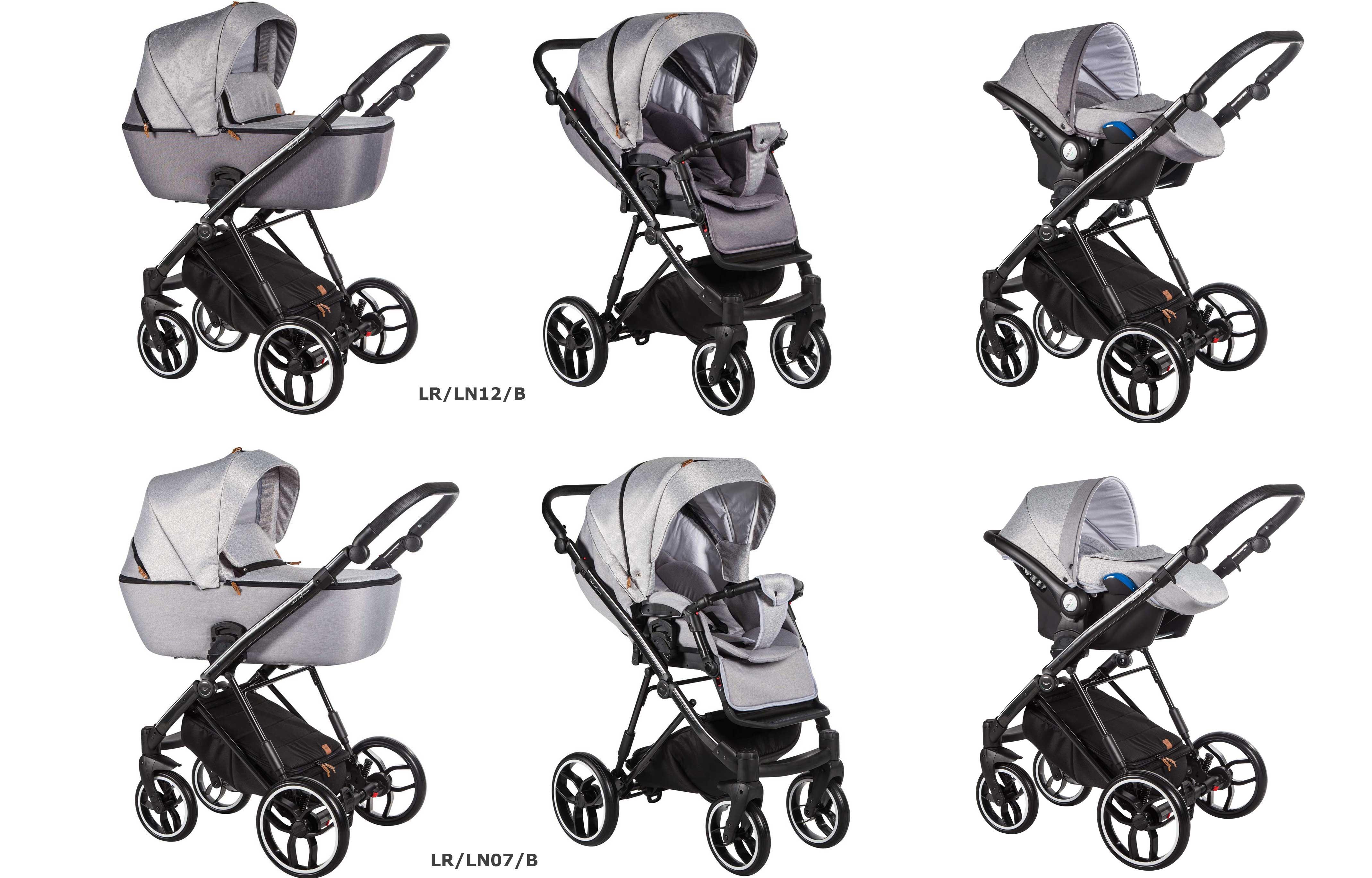 La Rosa Baby Merc wózek dziecięcy wieolofunkcyjny kolor 3