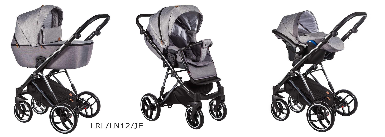wózek wielofunkcyjny La Rosa Limited Baby Merc szary