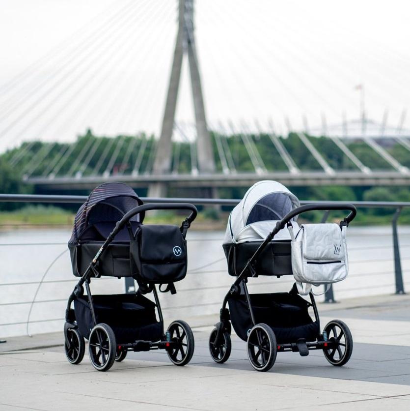 Lonex pax wózek dziecięcy wielofunkcyjny Pax 3w1 Dadi Shop modny wózek