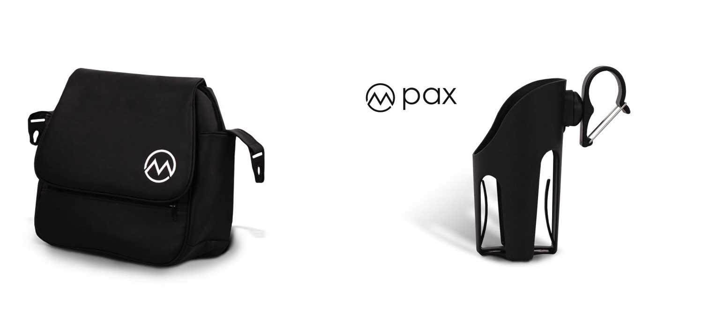 wózek Lonex Pax dziecięcy wielofunkcyjny torba uchwyt na kubek