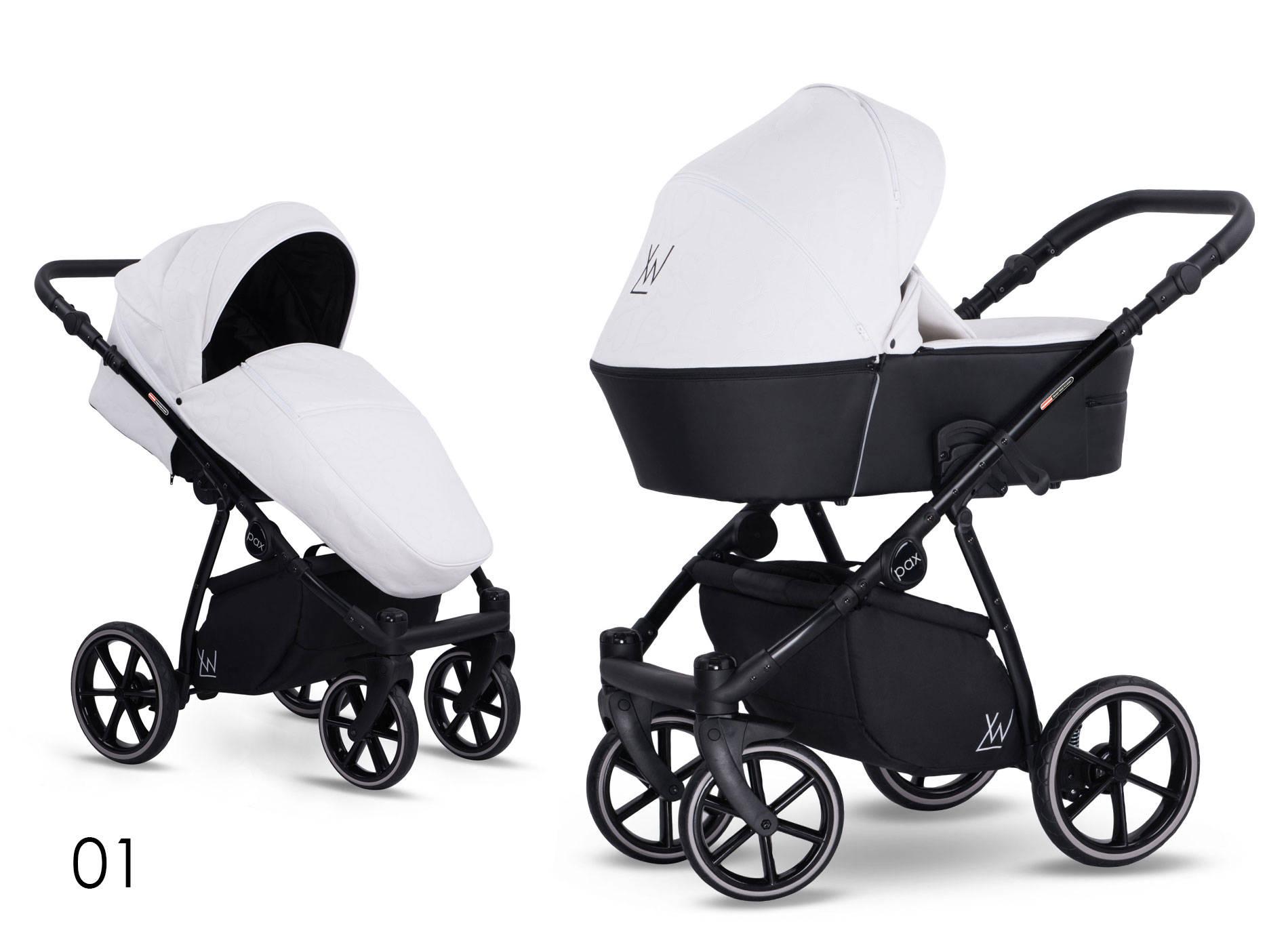 wózek dziecięcy Lonex Pax Eco biały
