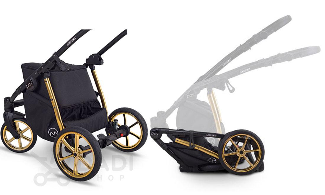 wózek Pax Rose wielofunkcyjny dziecięcy Lonex
