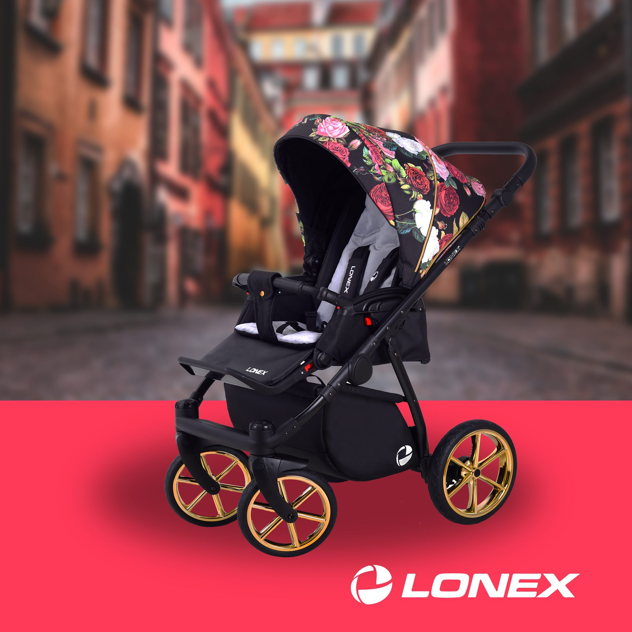 wózek spacerowy Lonex Sport