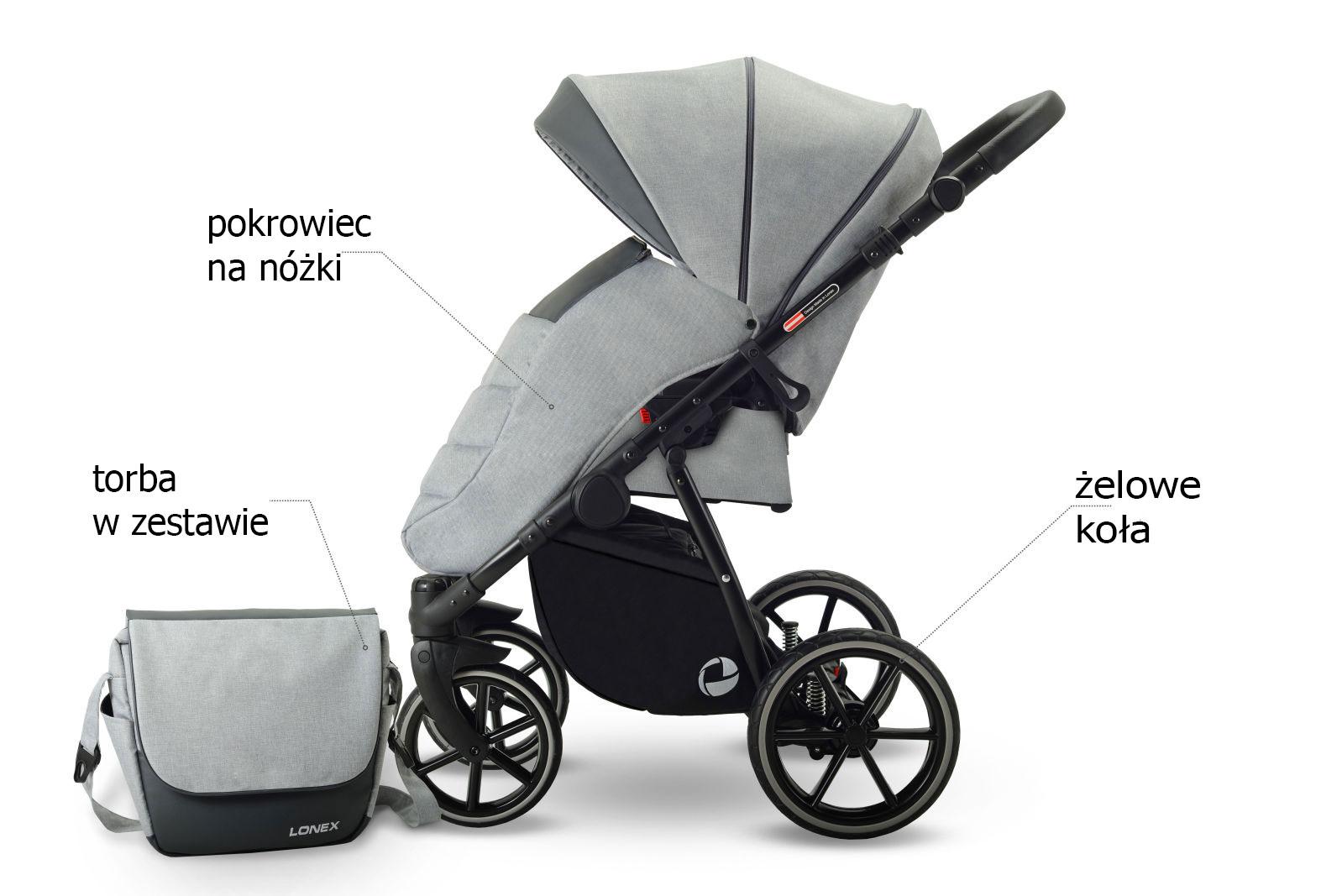 wózek spacerówka Lonex Sport