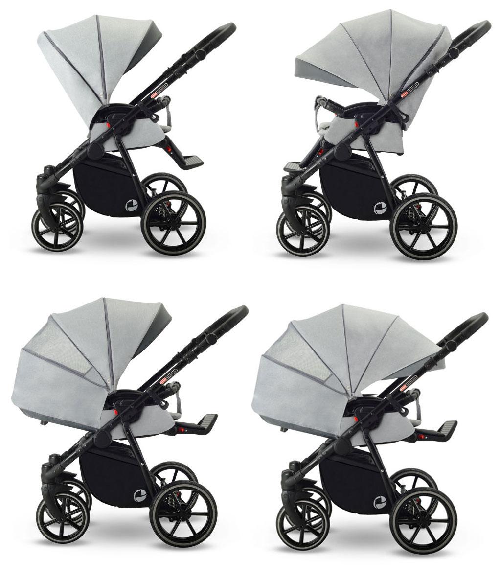 Lonex Sport wózek spacerowy funkcje