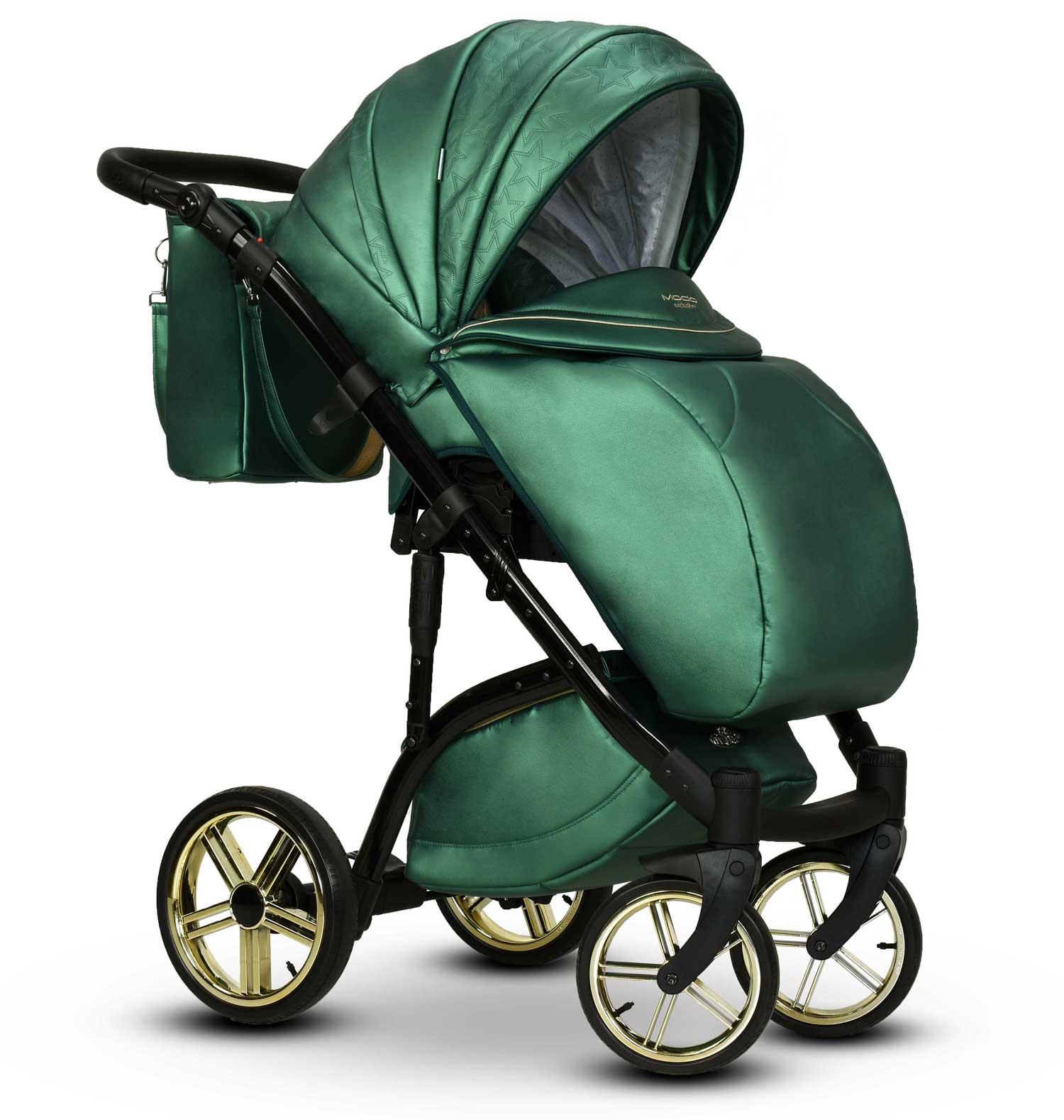 wózek wielofunkcyjny Wiejar Malachit spacerówka