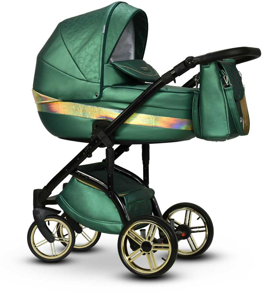 Malachit Wiejar wózek dziecięcy wielofunkcyjny