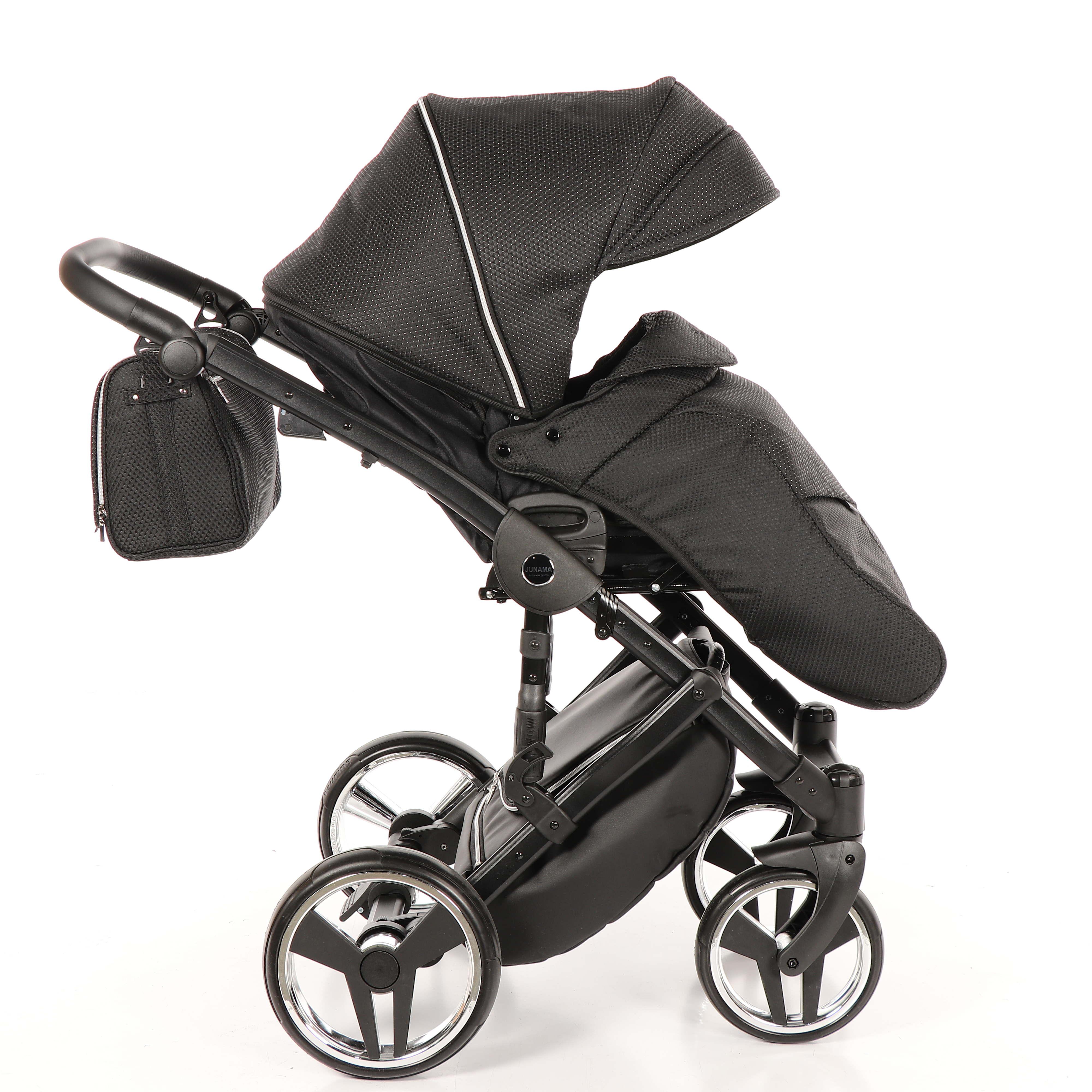 wielofunkcyjny wózek dziecięcy Junama Mirror Błysk