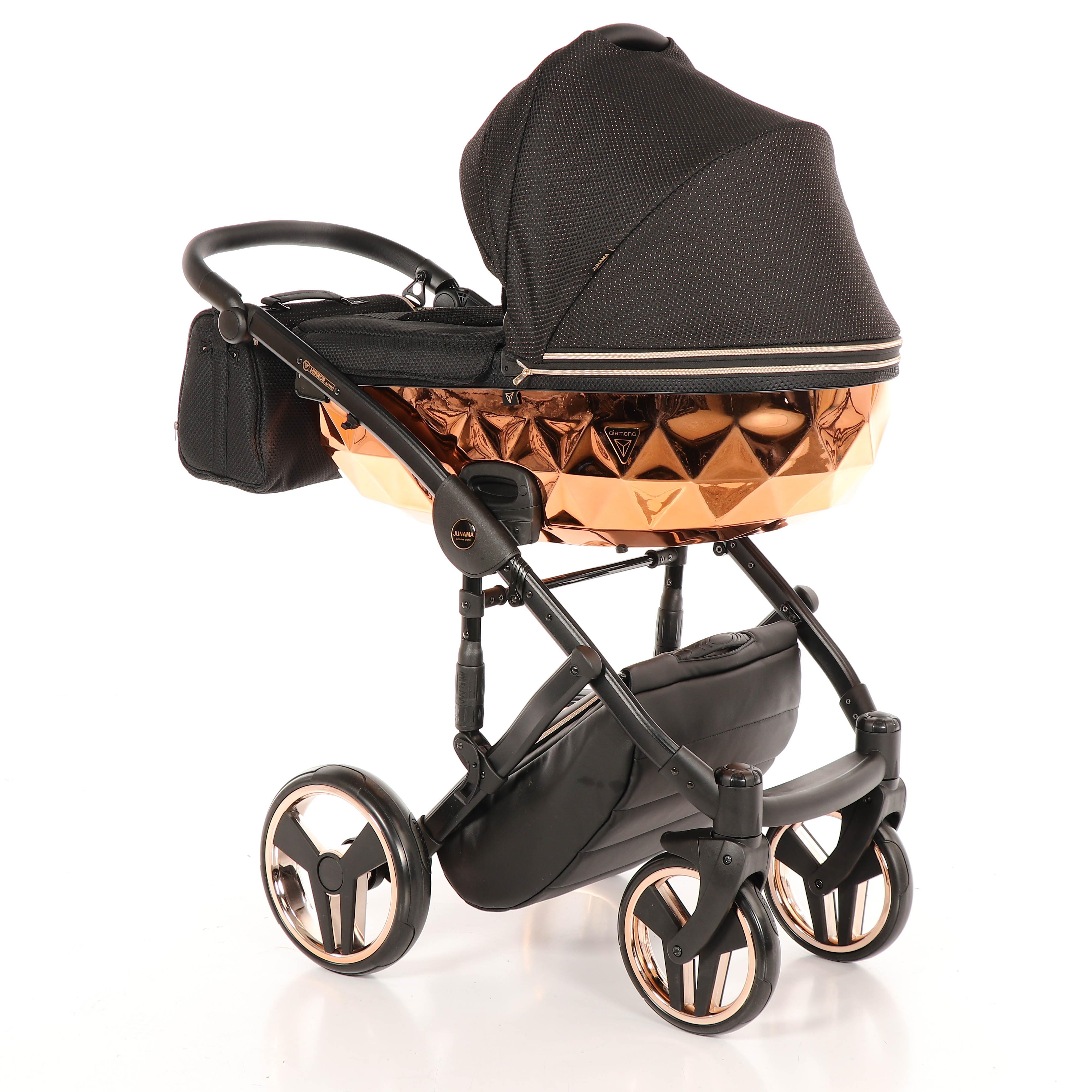 wózek wielofunkcyjny dziecięcy Junama Mirror Błysk Dadi Shop