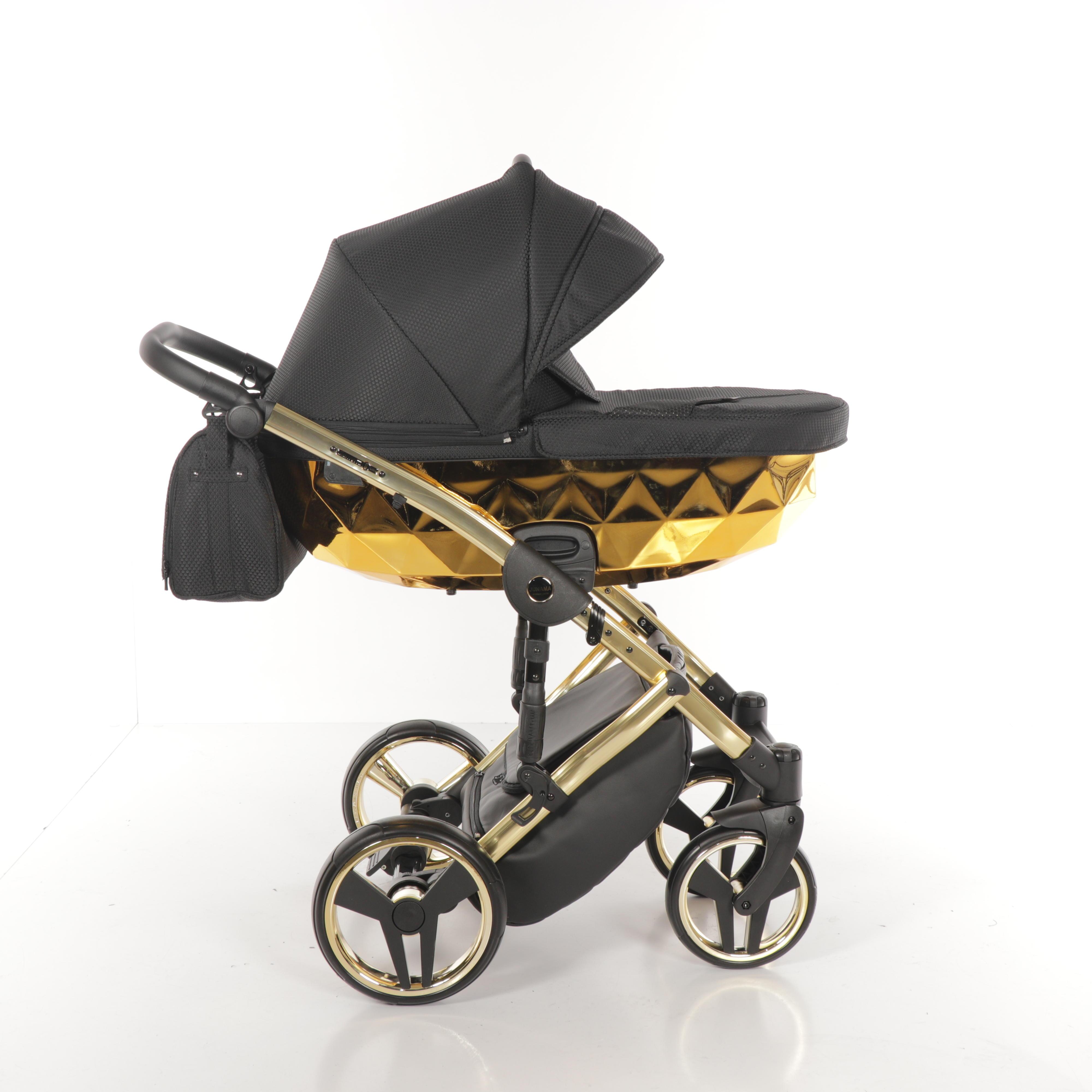 wózek dzieciecy Junama Mirror błysk wielofunkcyjny gondola