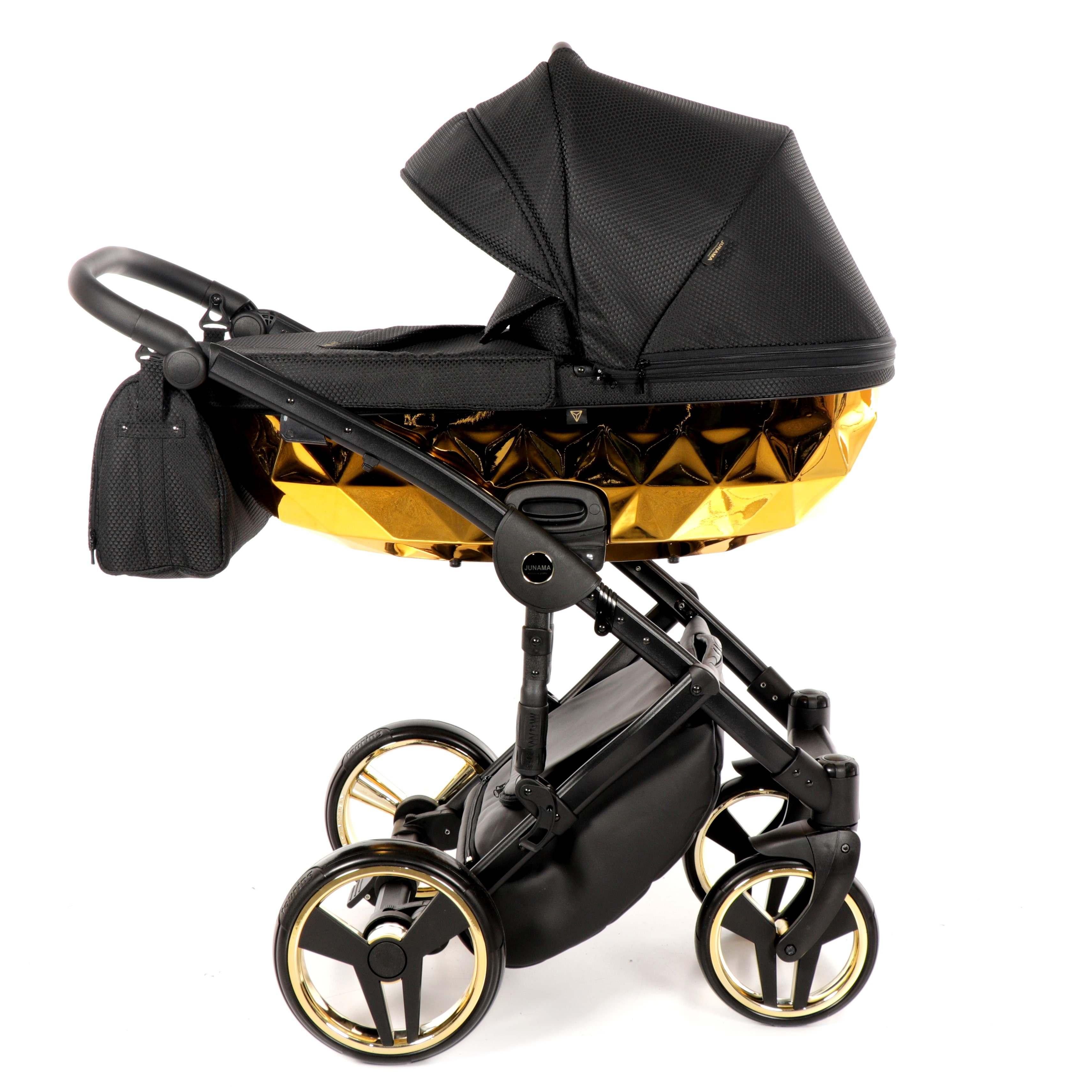 wielofunkcyjny Mirror Błysk wózek dziecięcy Junama złoty 02