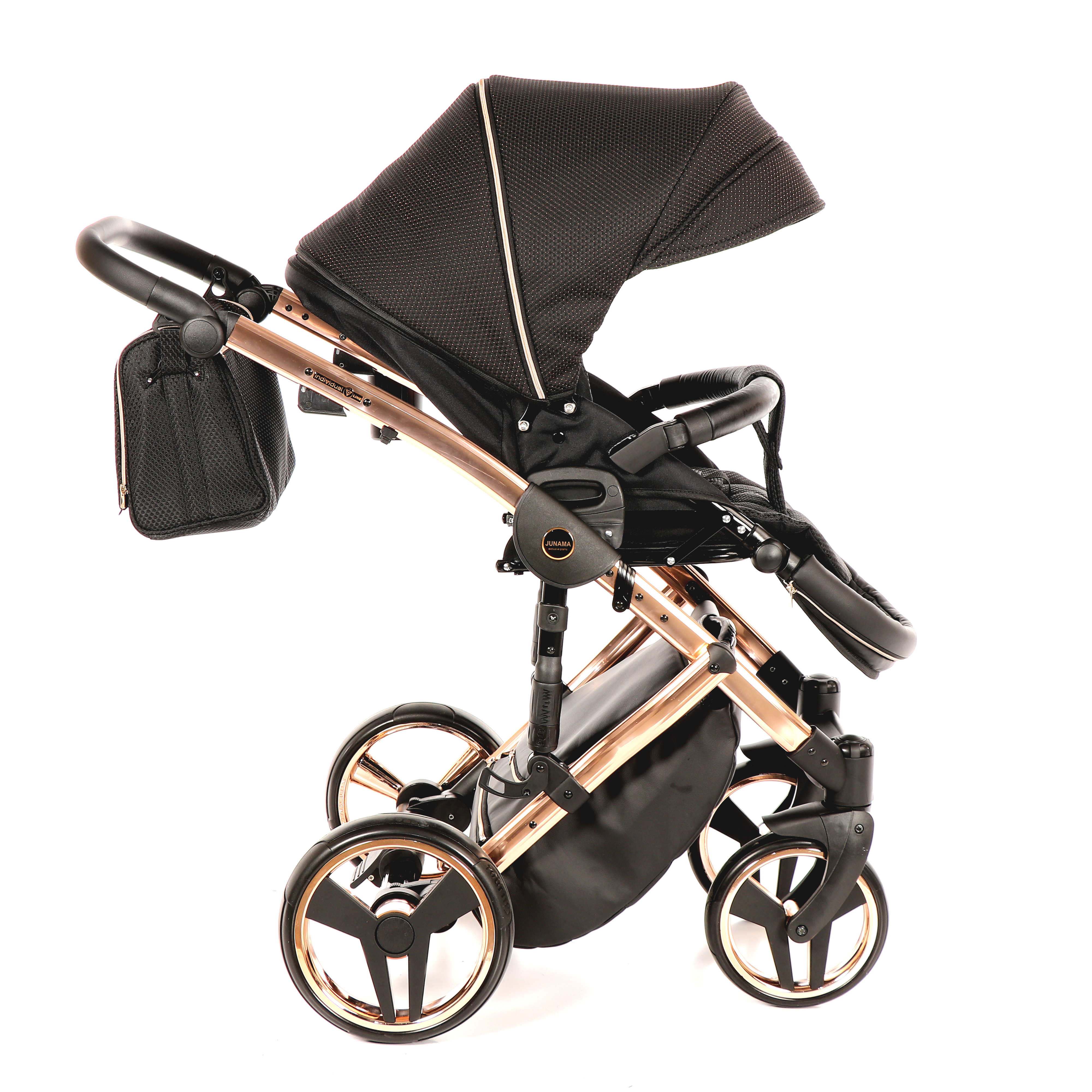 wielofunkcyjny dzieciecy Mirror Satin wózek Junama