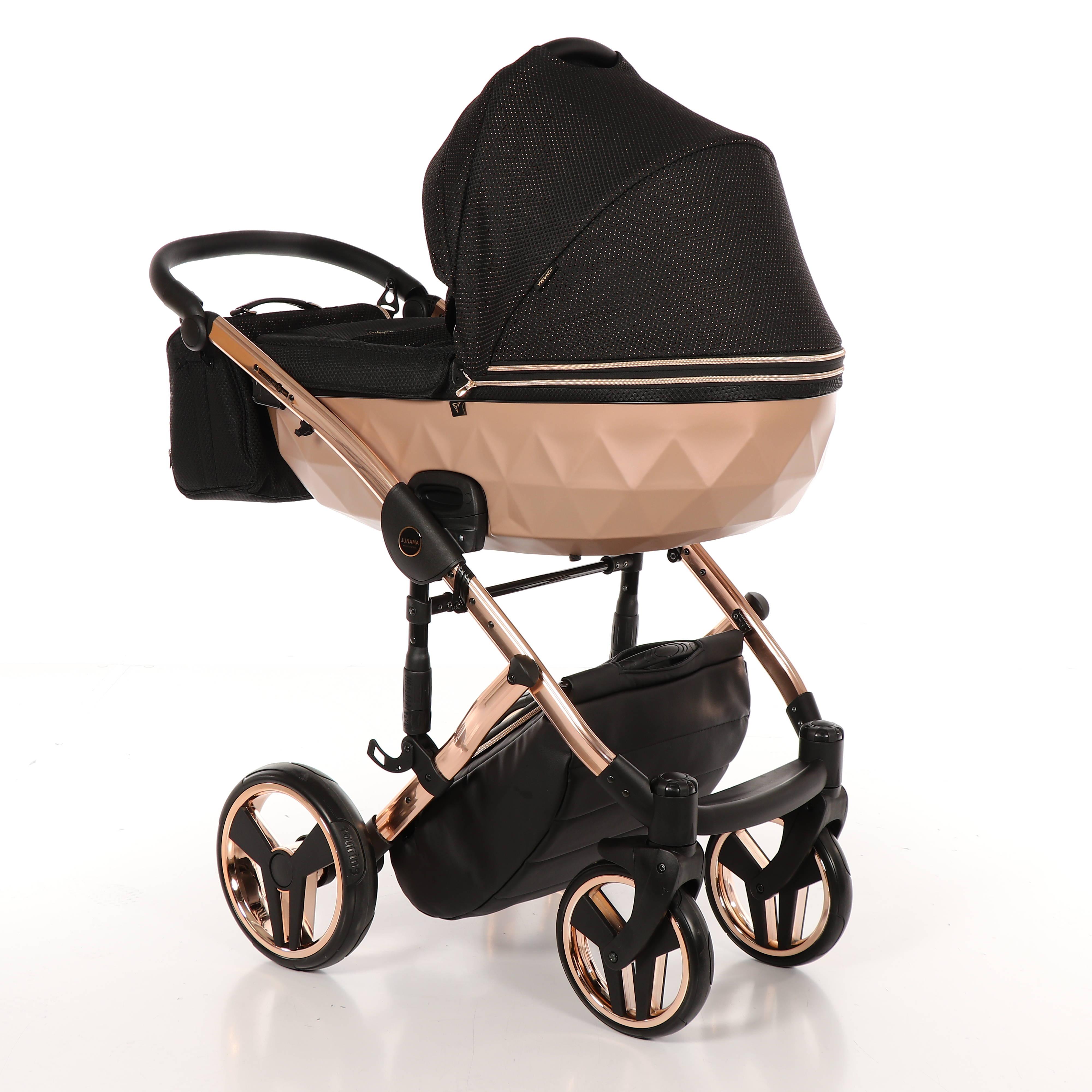 wielofunkcyjny Junama Mirror satin wózek dziecięcy