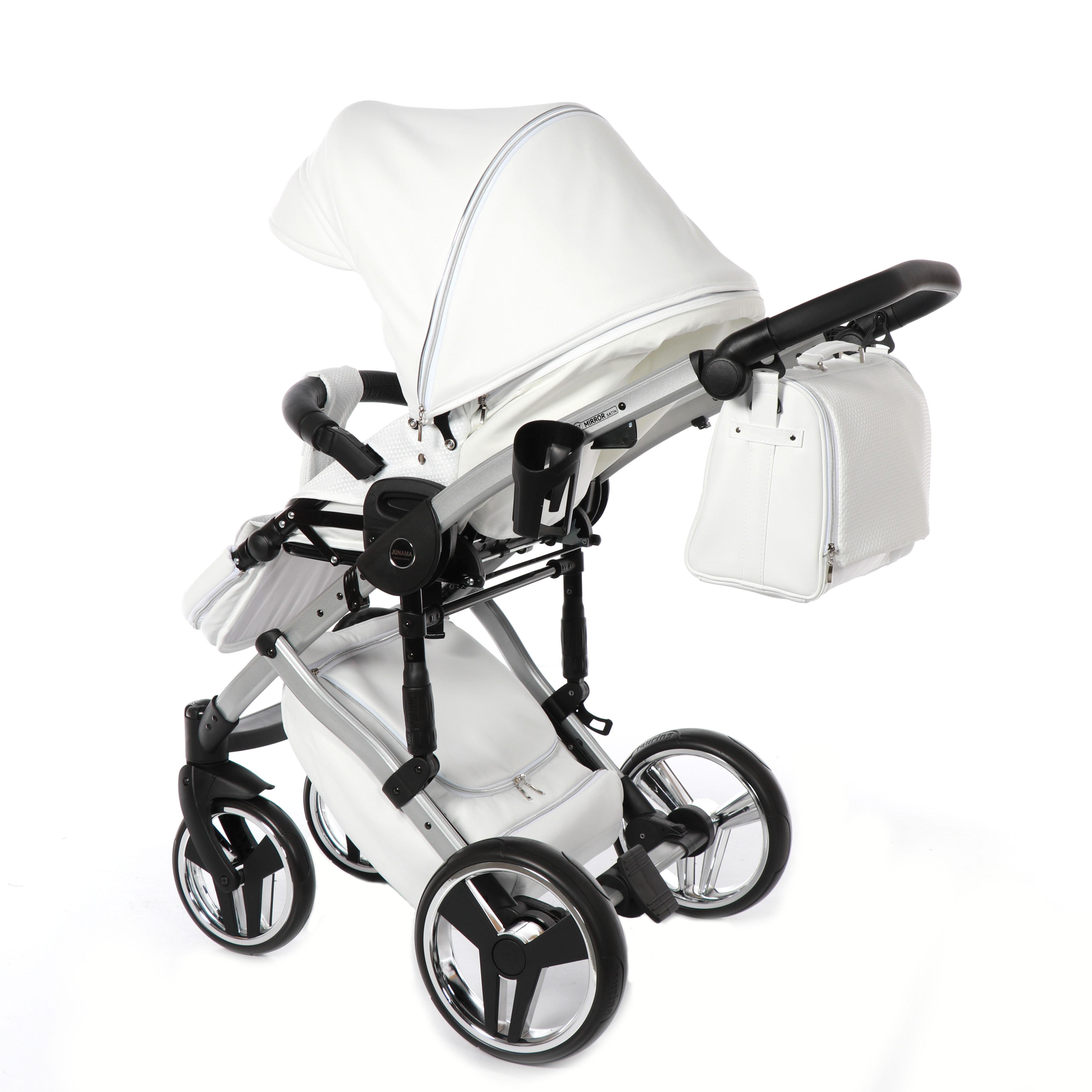 wielofunkcyjny wózek dzieciecy Junama Mirror Satin
