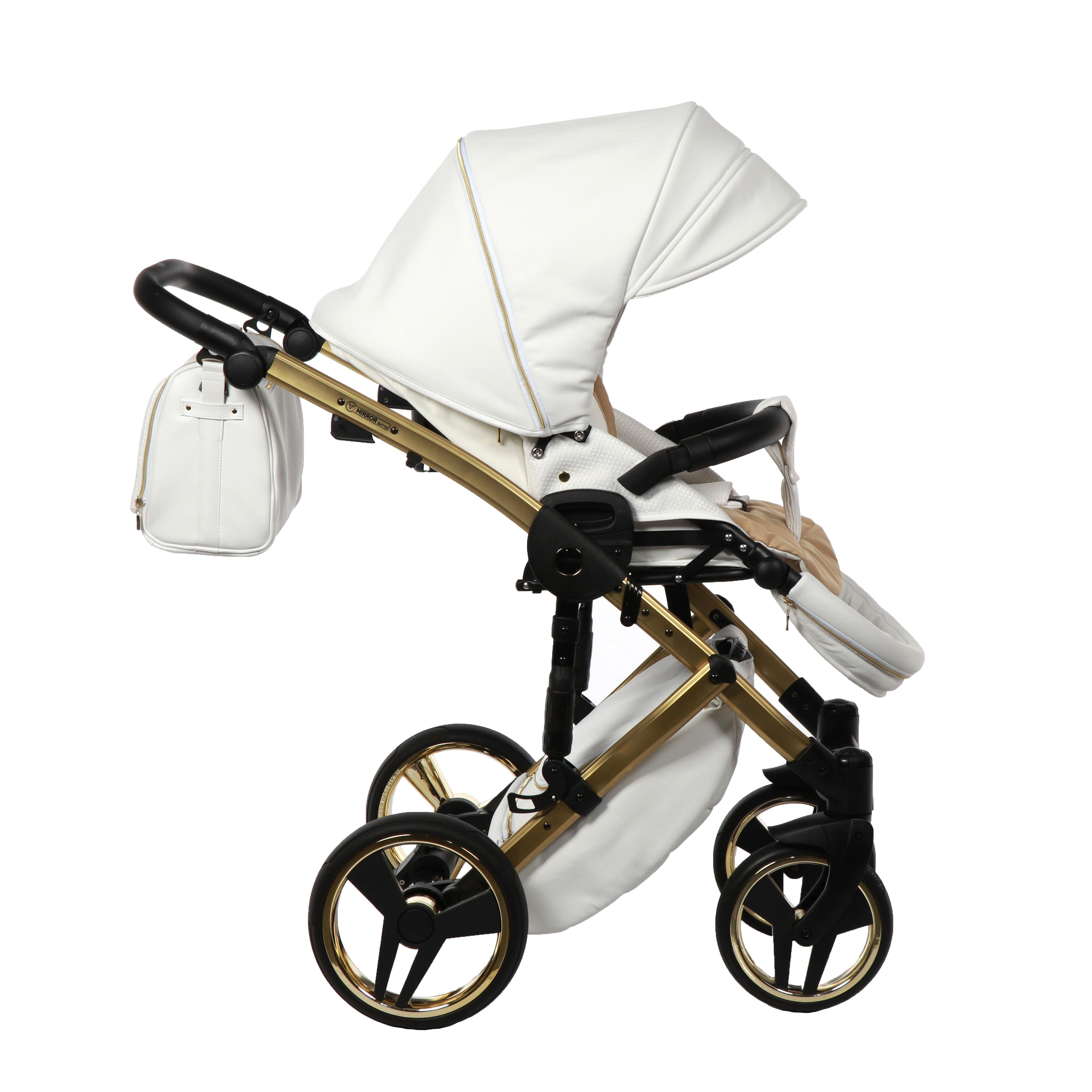 wózek dziecięcy wielofunkcyjny Mirror Satin Junama