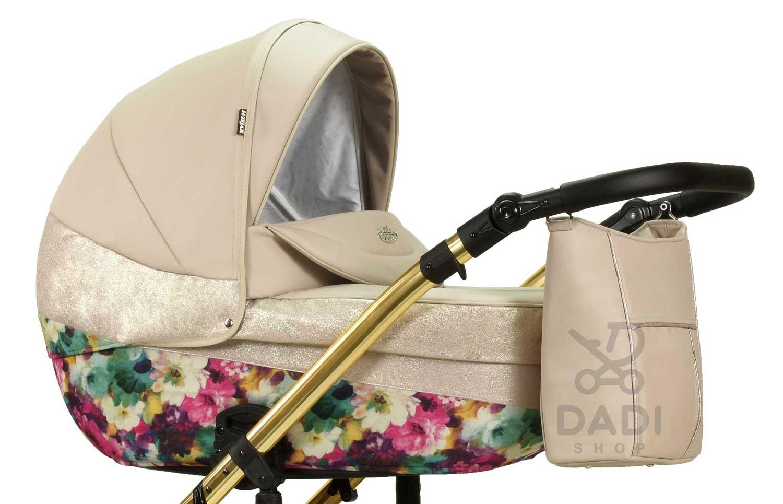 wielofunkcyjny Moloka Duo wózek dziecięcy Wiejar gondola w kwiaty Dadi Shop