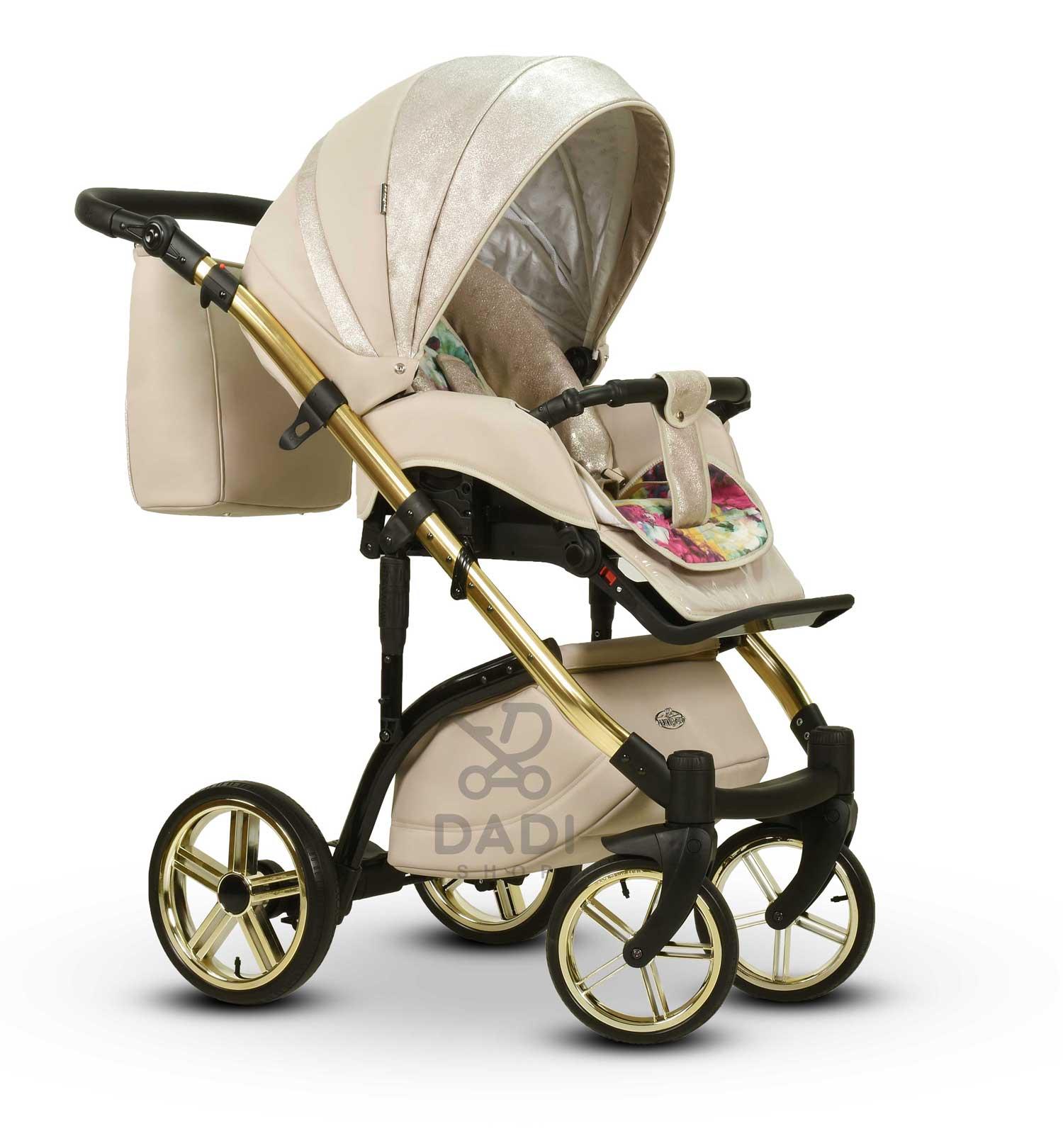 wózek Moloka Duo dziecięcy wielofunkcyjny Wiejar spacerówka