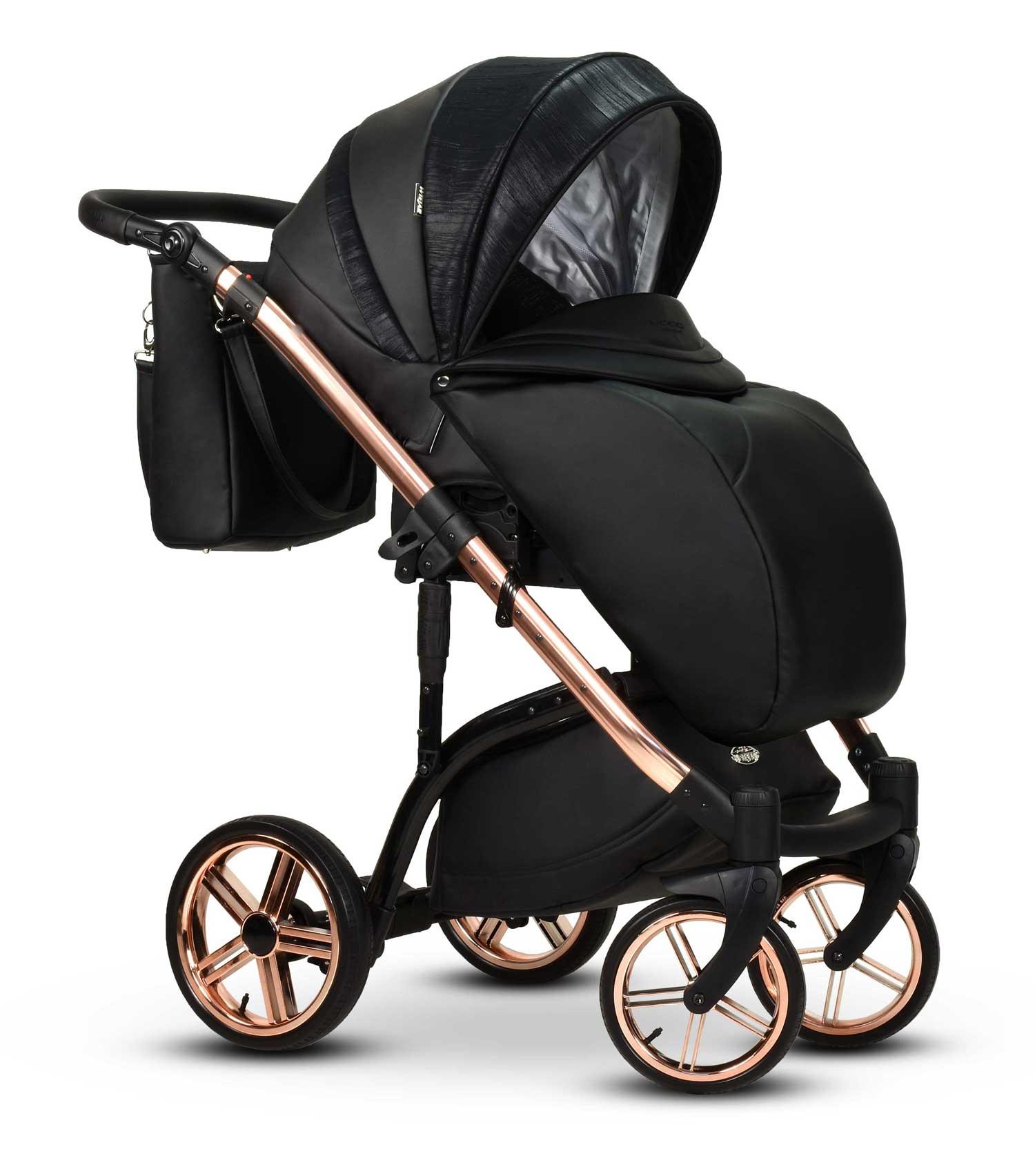 wielofunkcyjny wózek dziecięcy Monte Negro Wiejar spacerówka