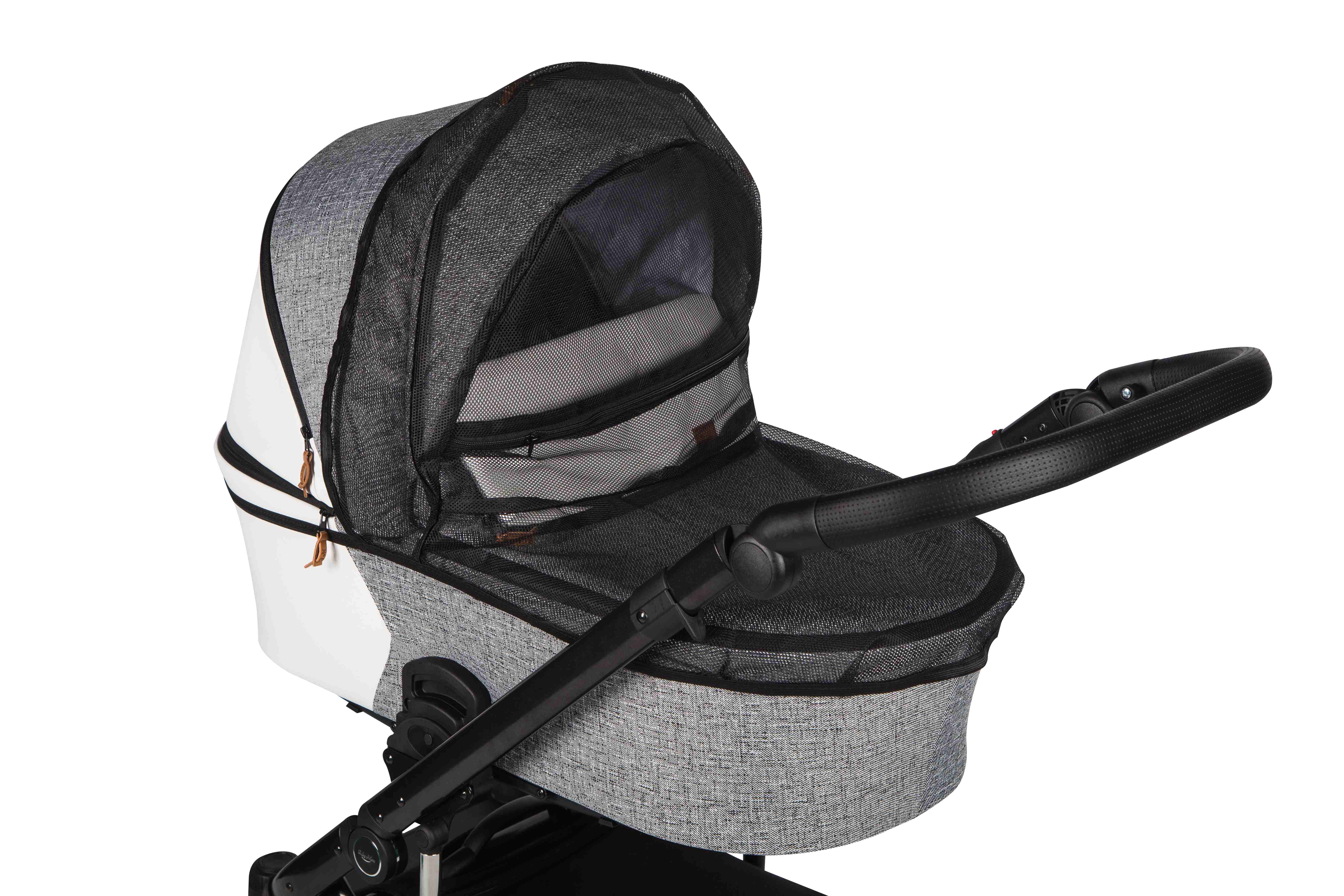 wózek dziecięcy Baby Merc Mosca LE moskitera