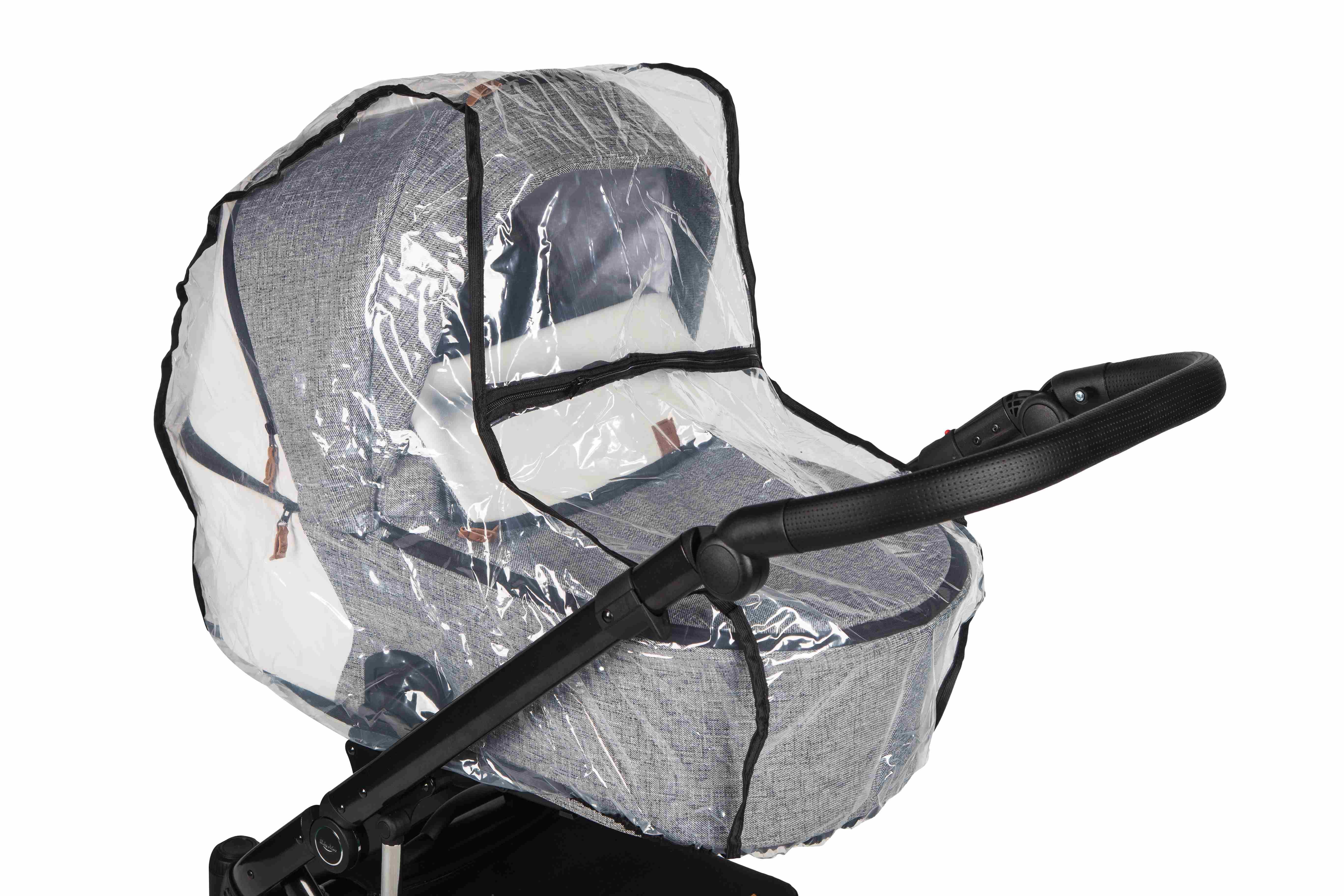 wózek dziecięcy Baby Merc Mosca LE folia przeciwdeszczowa