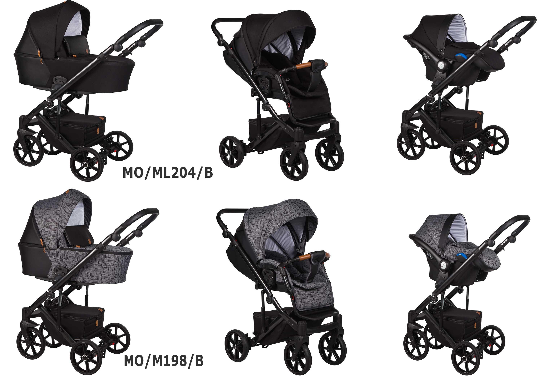 wózek dziecięcy wielofunkcyjny Moca Baby Merc