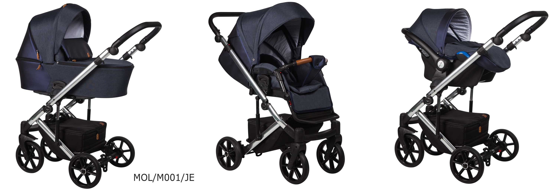 wózek Baby Merc Mosca LE granatowy