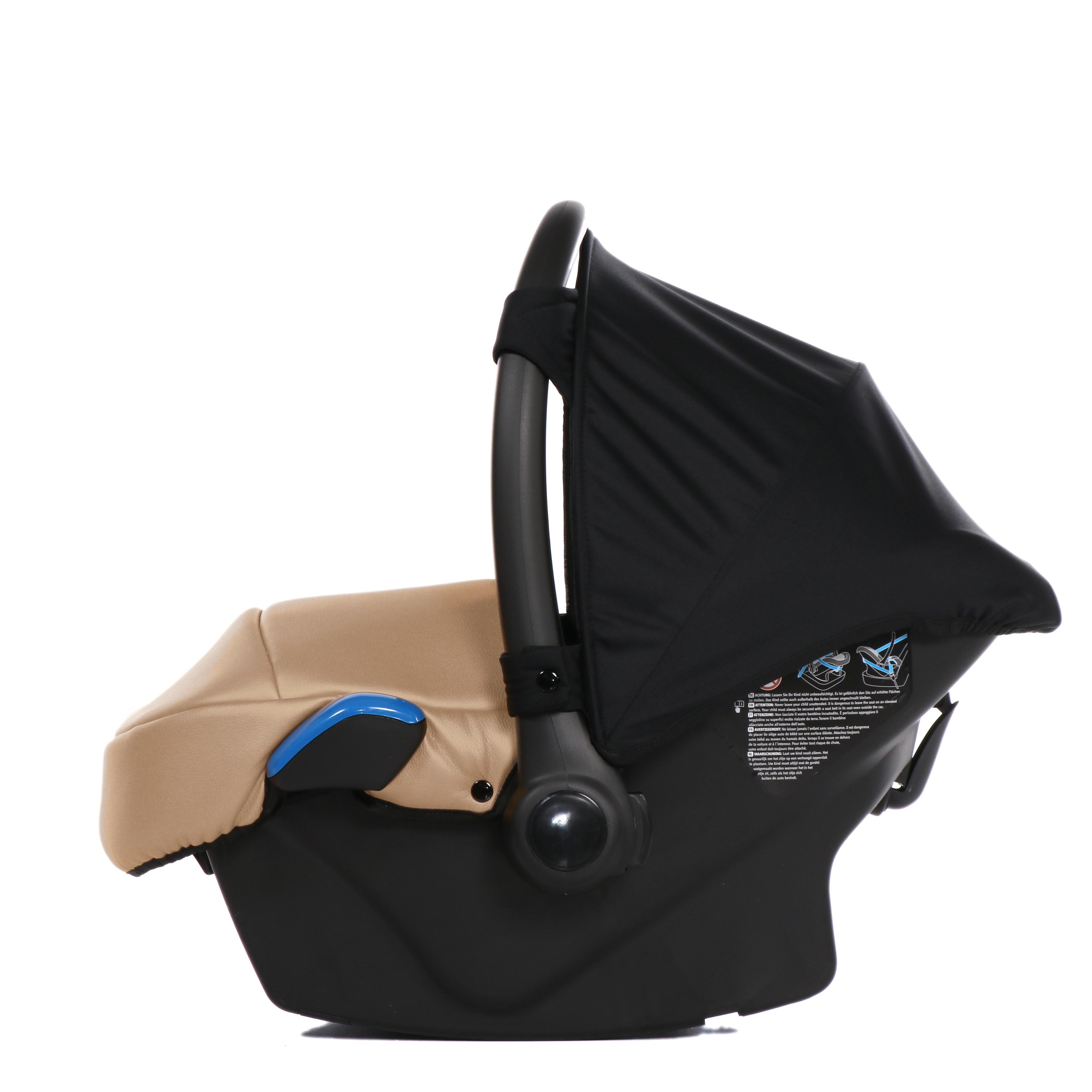 fotelik samochodowy wózek Junama Saphire zestaw 3w1 wielofunkcyjny wózek