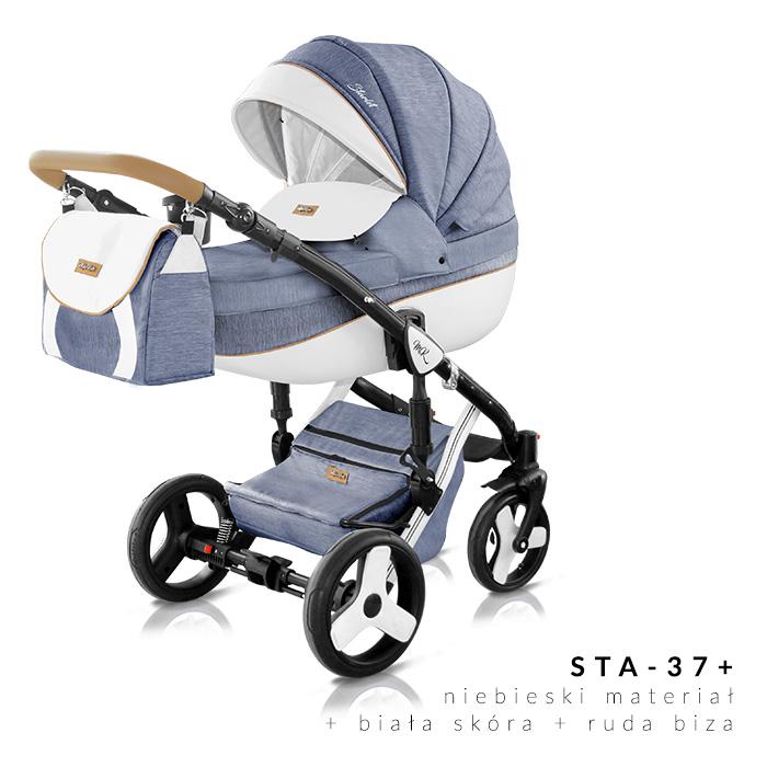 Starlet Plus Milu Kids wózek dzieciecy wielofunkcyjny