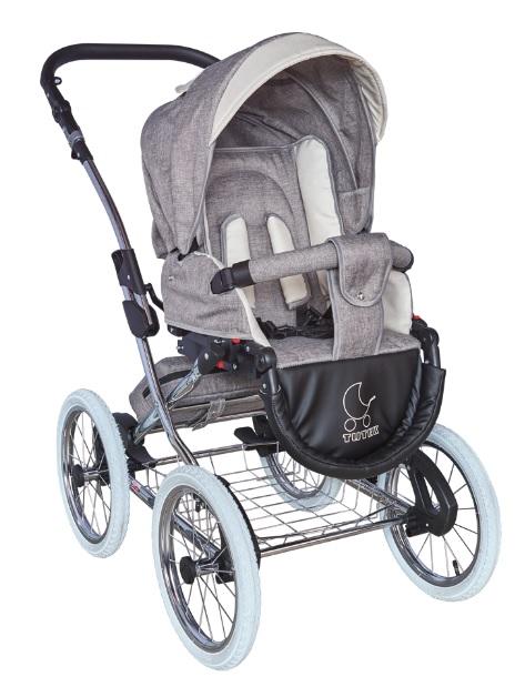 wózek dziecięcy Turran Silver spacerówka Tutek