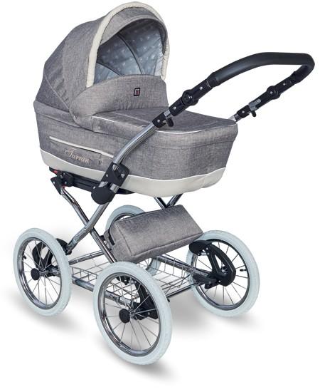 wózek dziecięcy Tutek Turran Silver szary