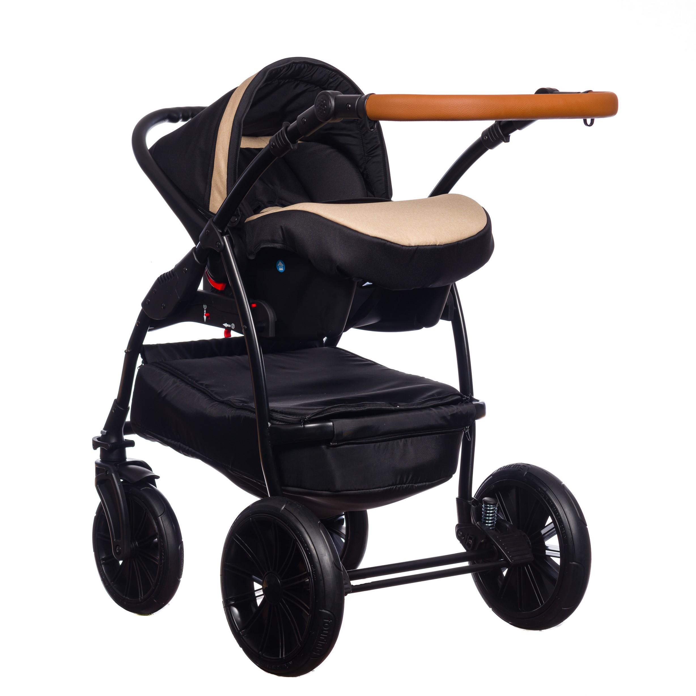 Paradise Baby Verso 3w1 wózek dziecięcy wielofunkcyjny z fotelikiem samochodowym