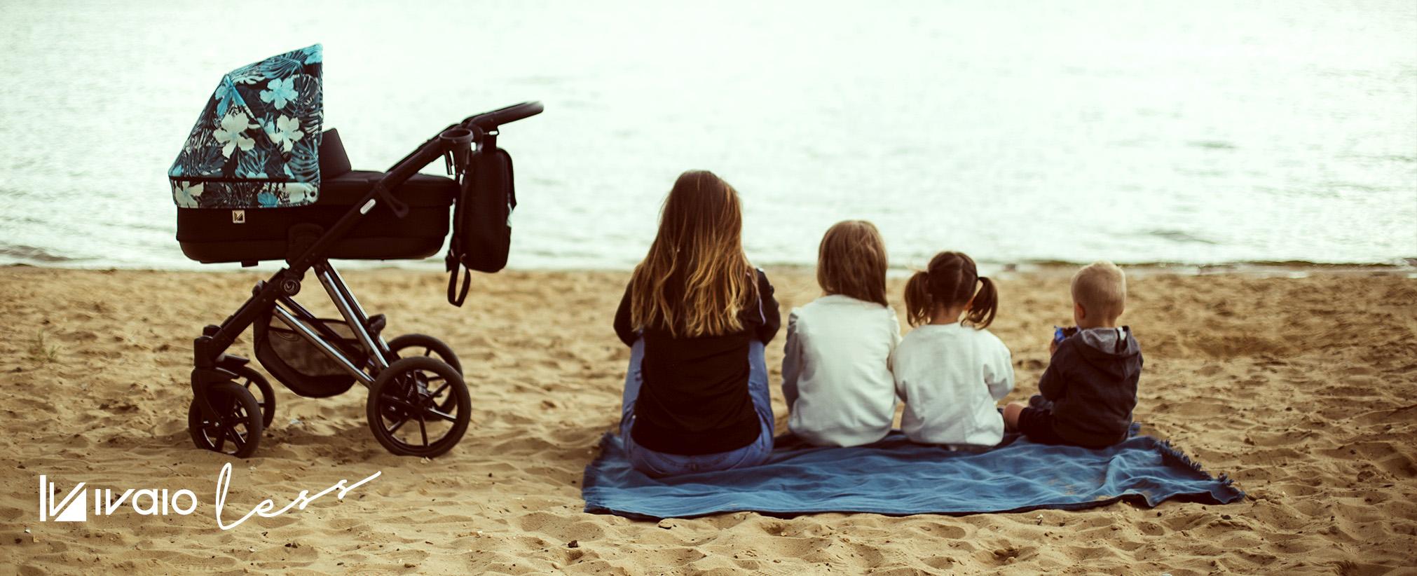 wózek dzieciecy Vivaio Less Milu Kids wielofunkcyjny Dadi Shop