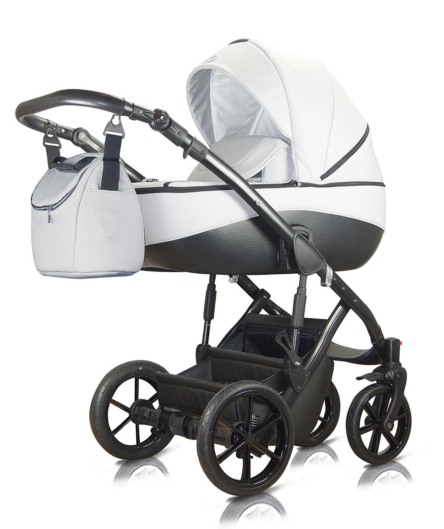 wózek dziecięcy wielofunkcyjny Milu Kids Bacio biały