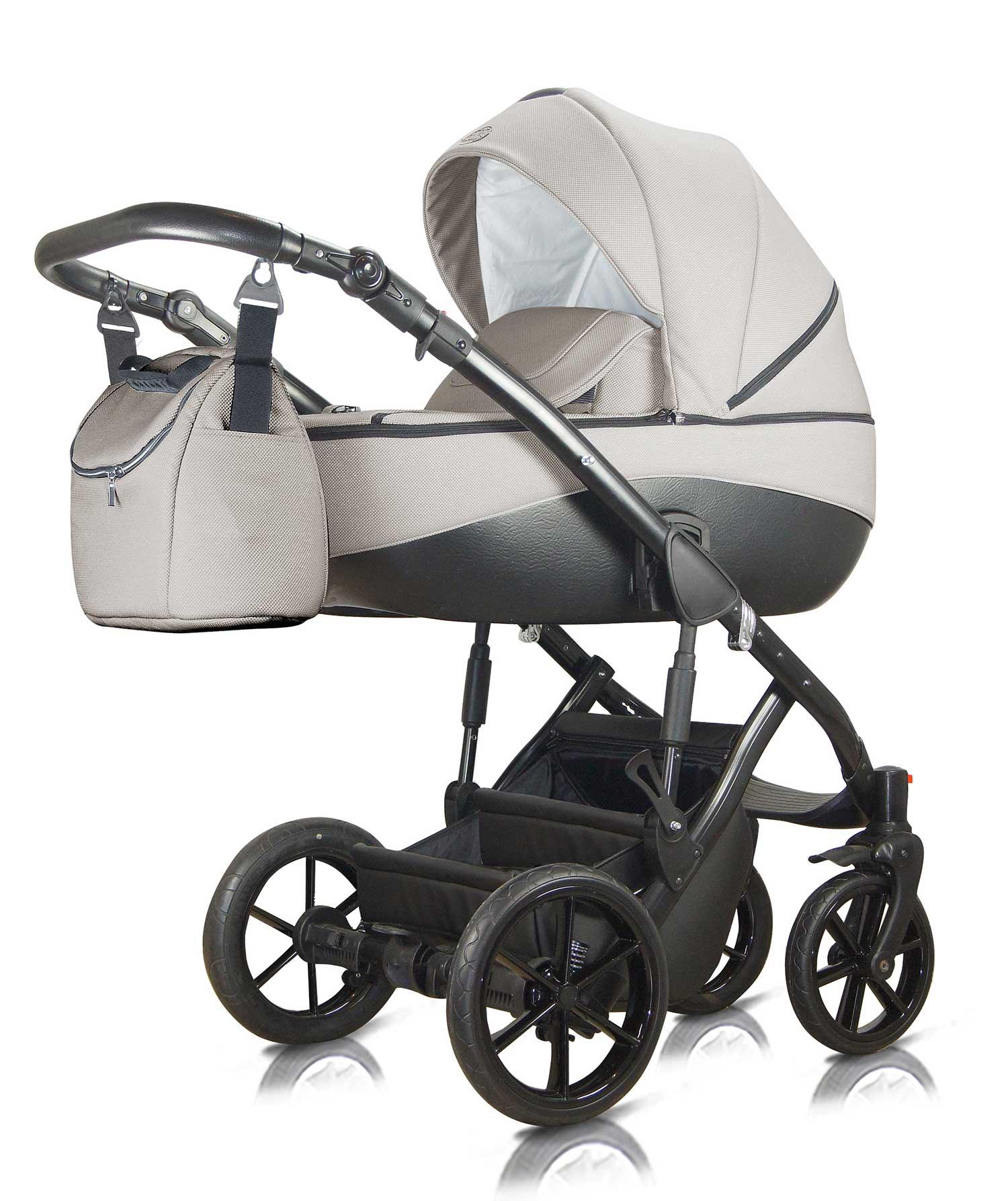 Milu Kids Bacio szary wózek dziecięcy