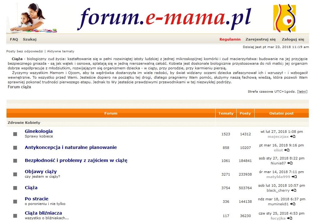 http://www.forum.e-mama.pl/