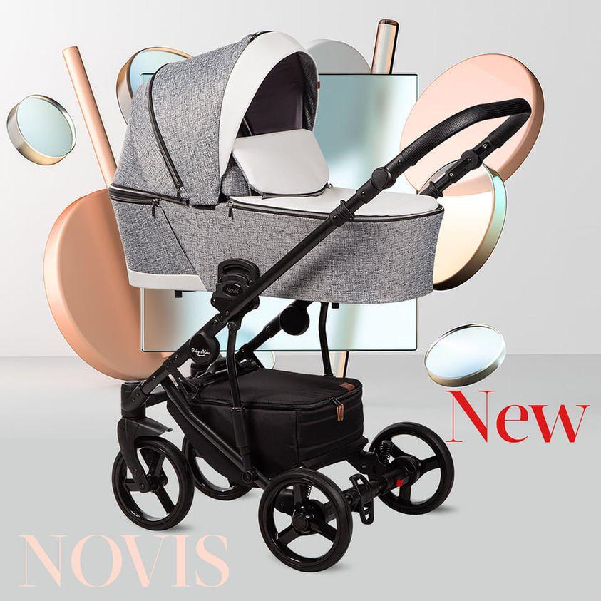wózek dziecięcy Baby Merc Novis