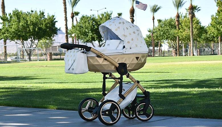 Nowoczesny wózek dzieciecy Junama Glow